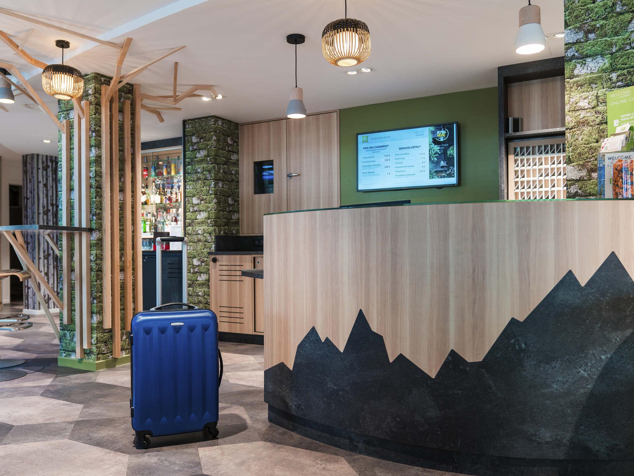Отель — ibis Styles Анси Центральный Вокзал