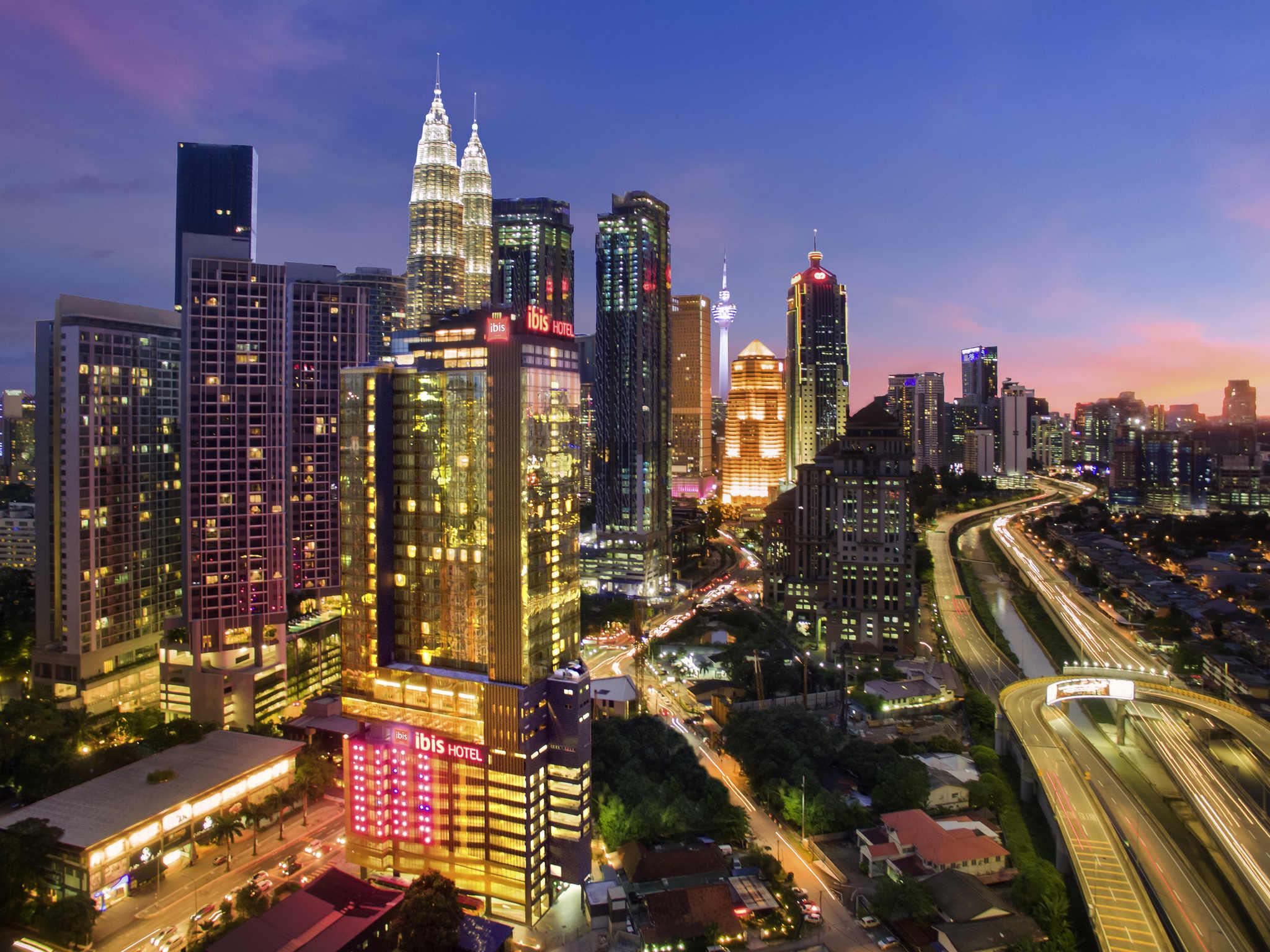 Hotel – ibis Kuala Lumpur City Centre (inauguração em setembro de 2018)