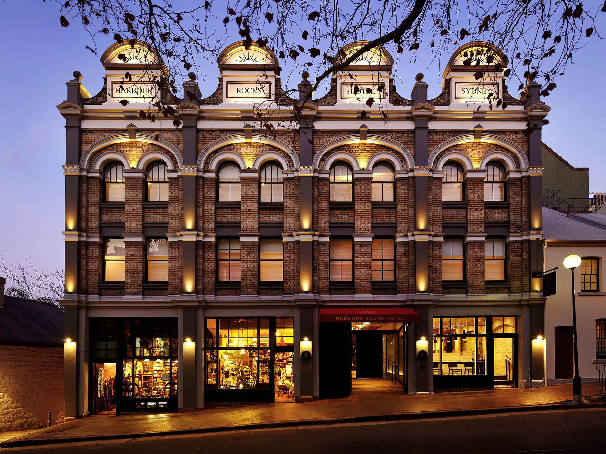 酒店 – 美憬阁索菲特悉尼岩石区海港酒店