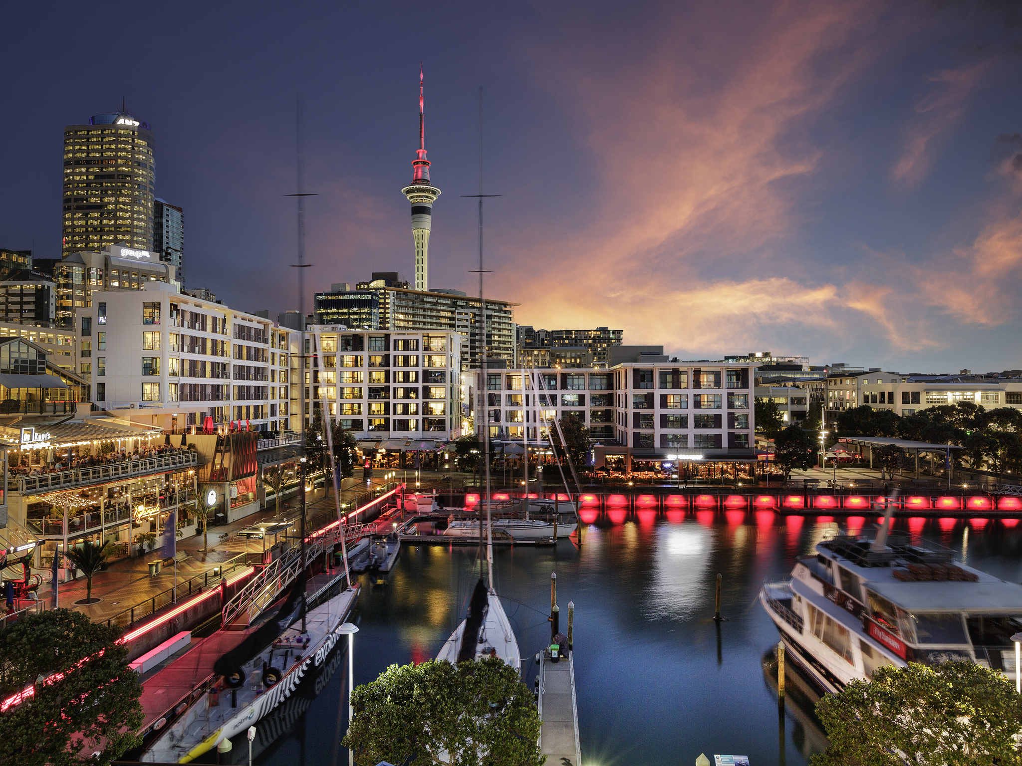 Hotell – Sebel Auckland Viaduct Harbour