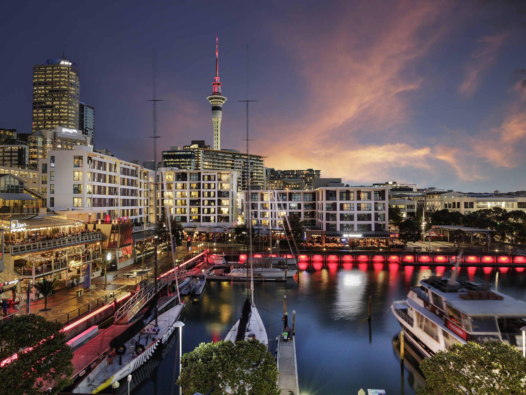 فندق - The Sebel Auckland Viaduct Harbour