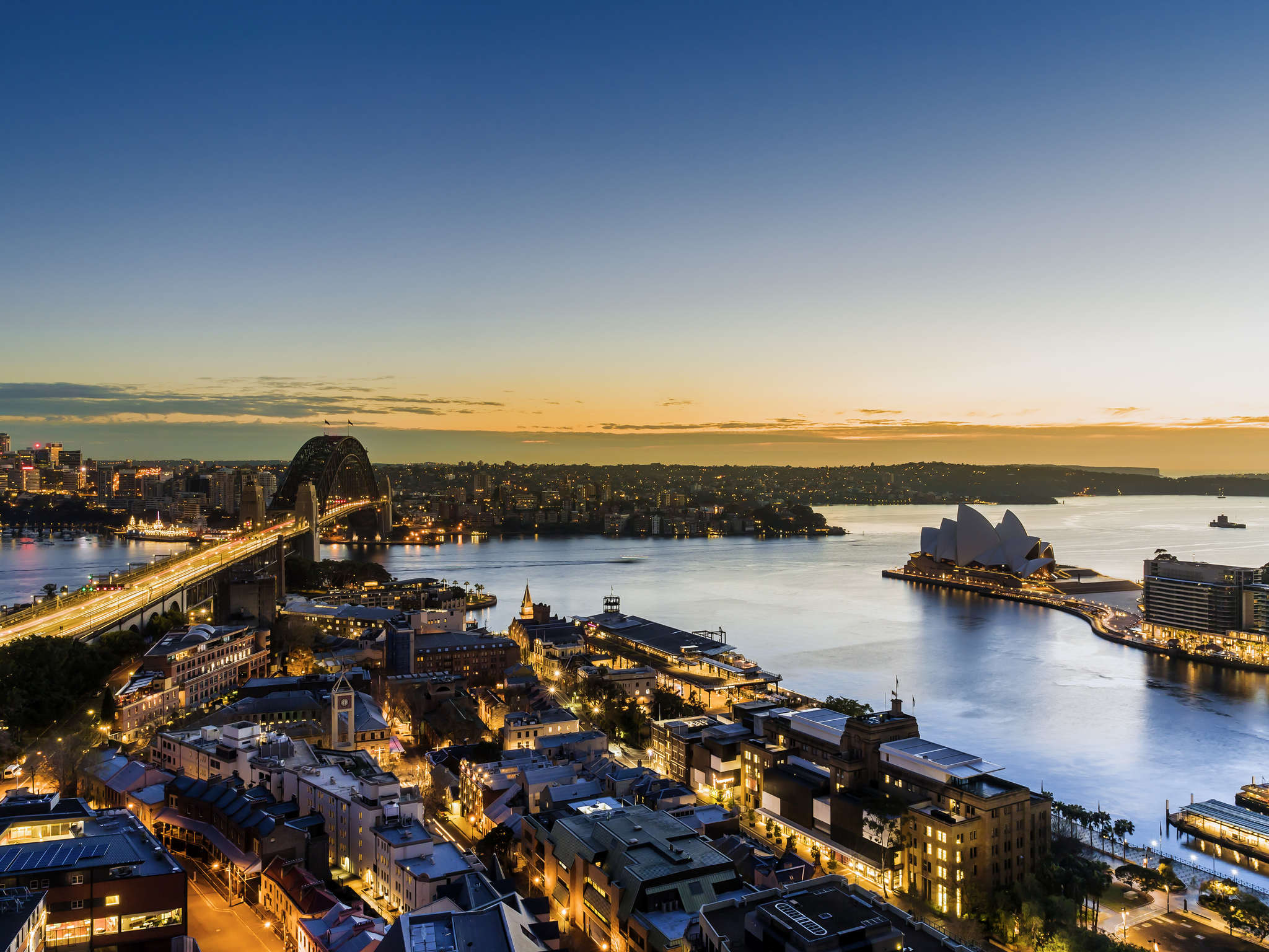 Hotell – Quay West Suites Sydney