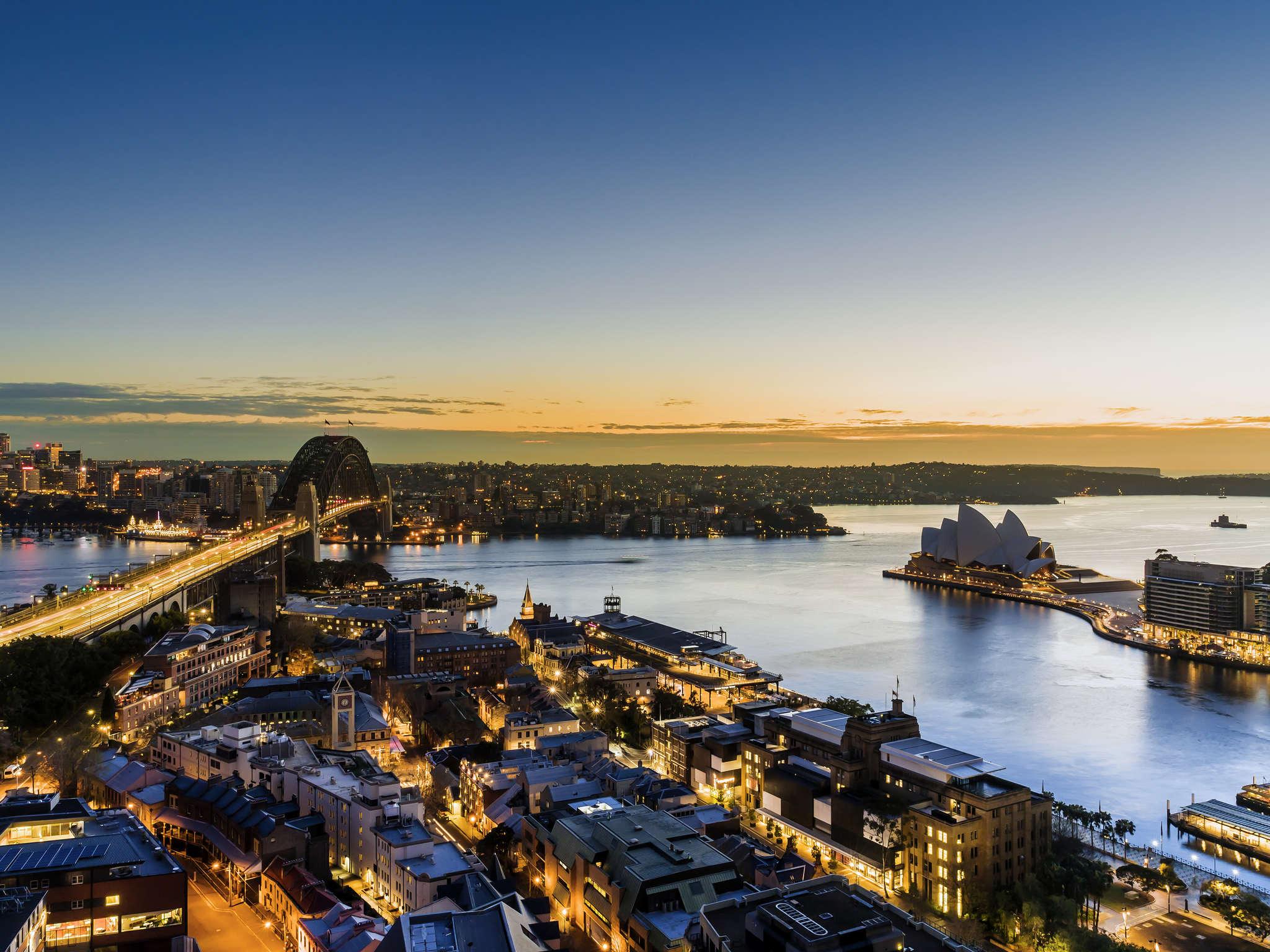 酒店 – 悉尼西码头套房酒店