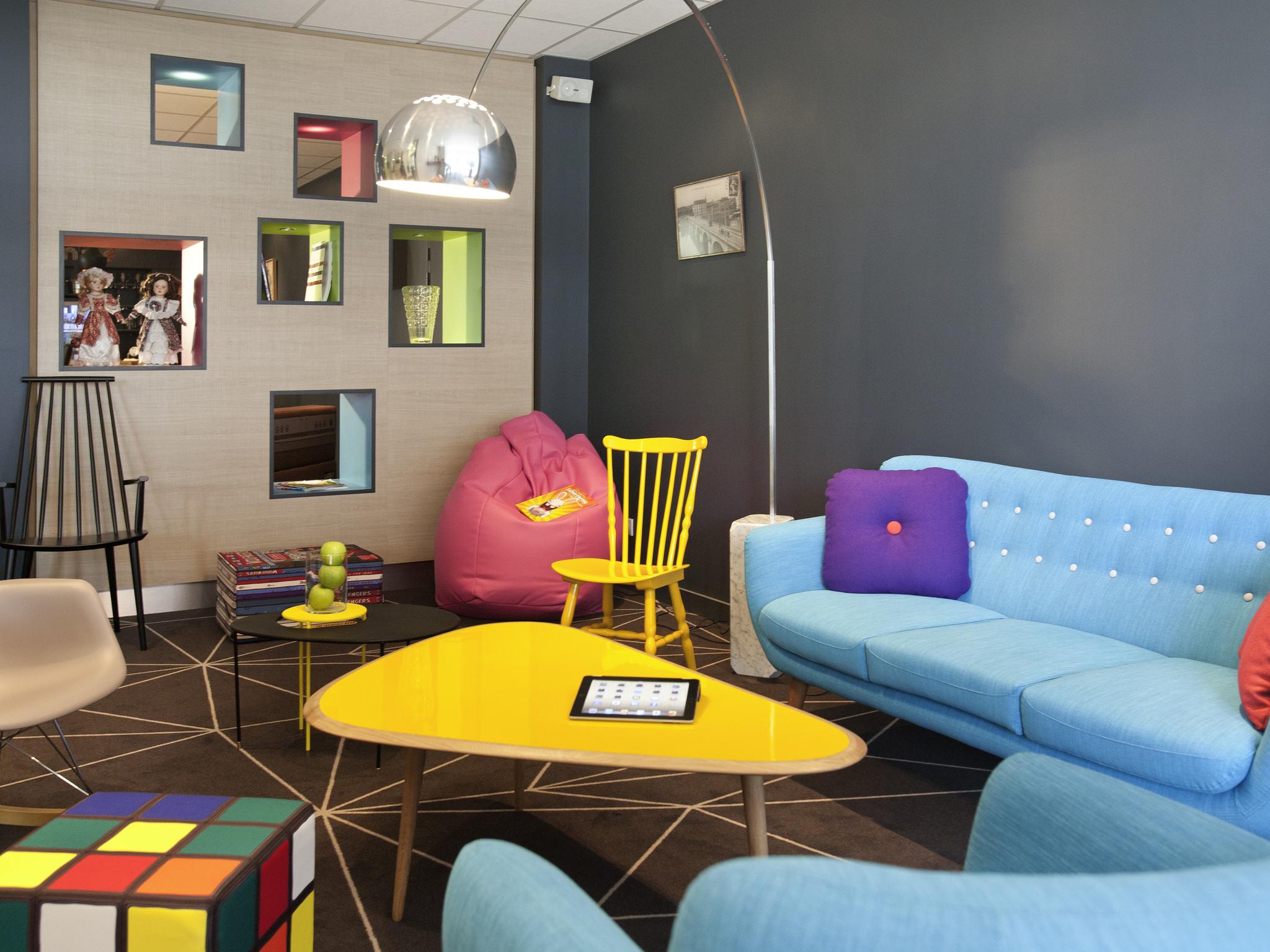 โรงแรม – ibis Styles Roanne Centre Gare