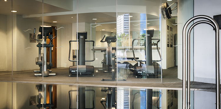 Golf fitness amenities pullman quay grand sydney harbour - Best cardio equipment for small spaces property ...