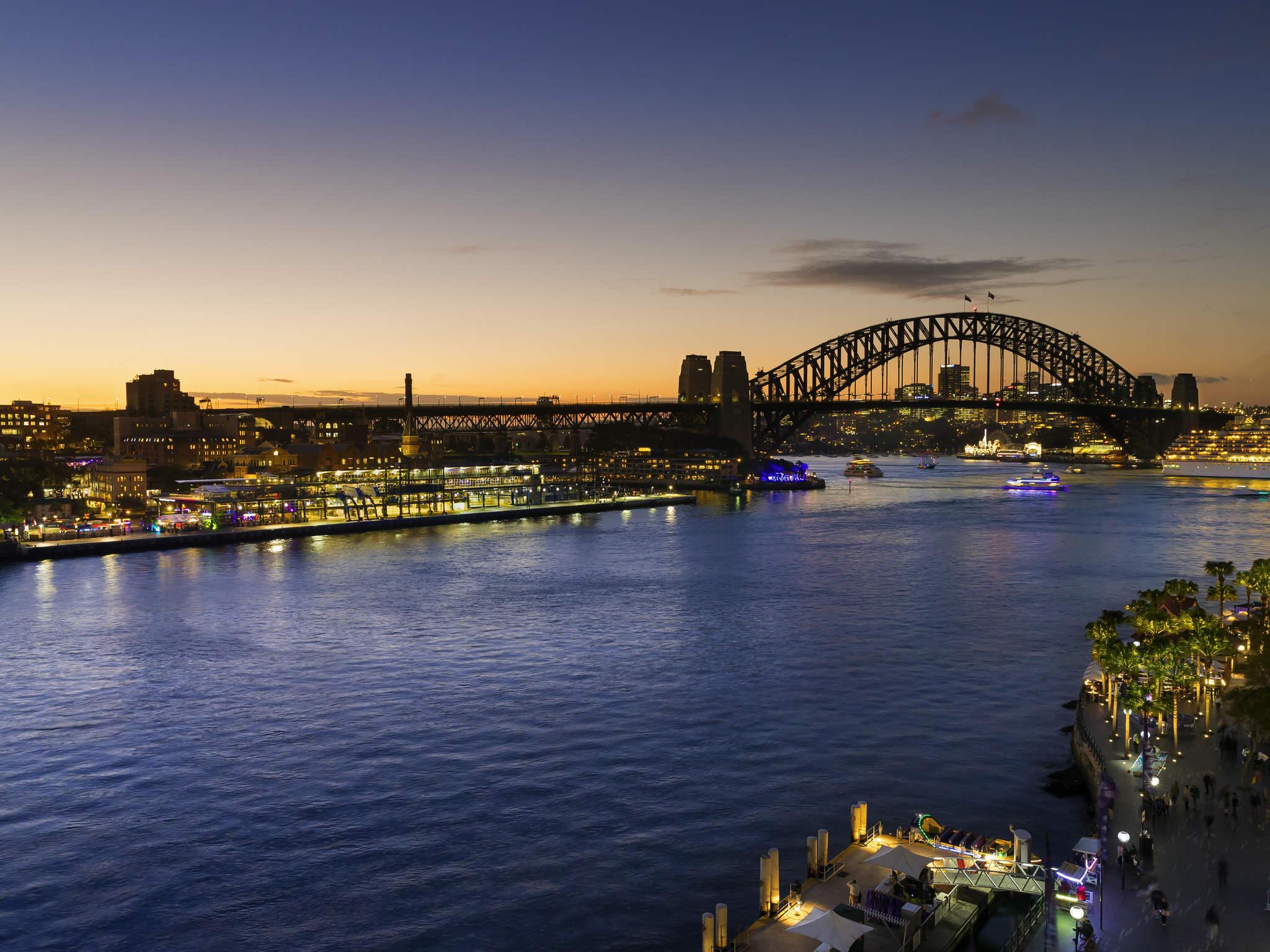酒店 – 悉尼港大码头铂尔曼酒店