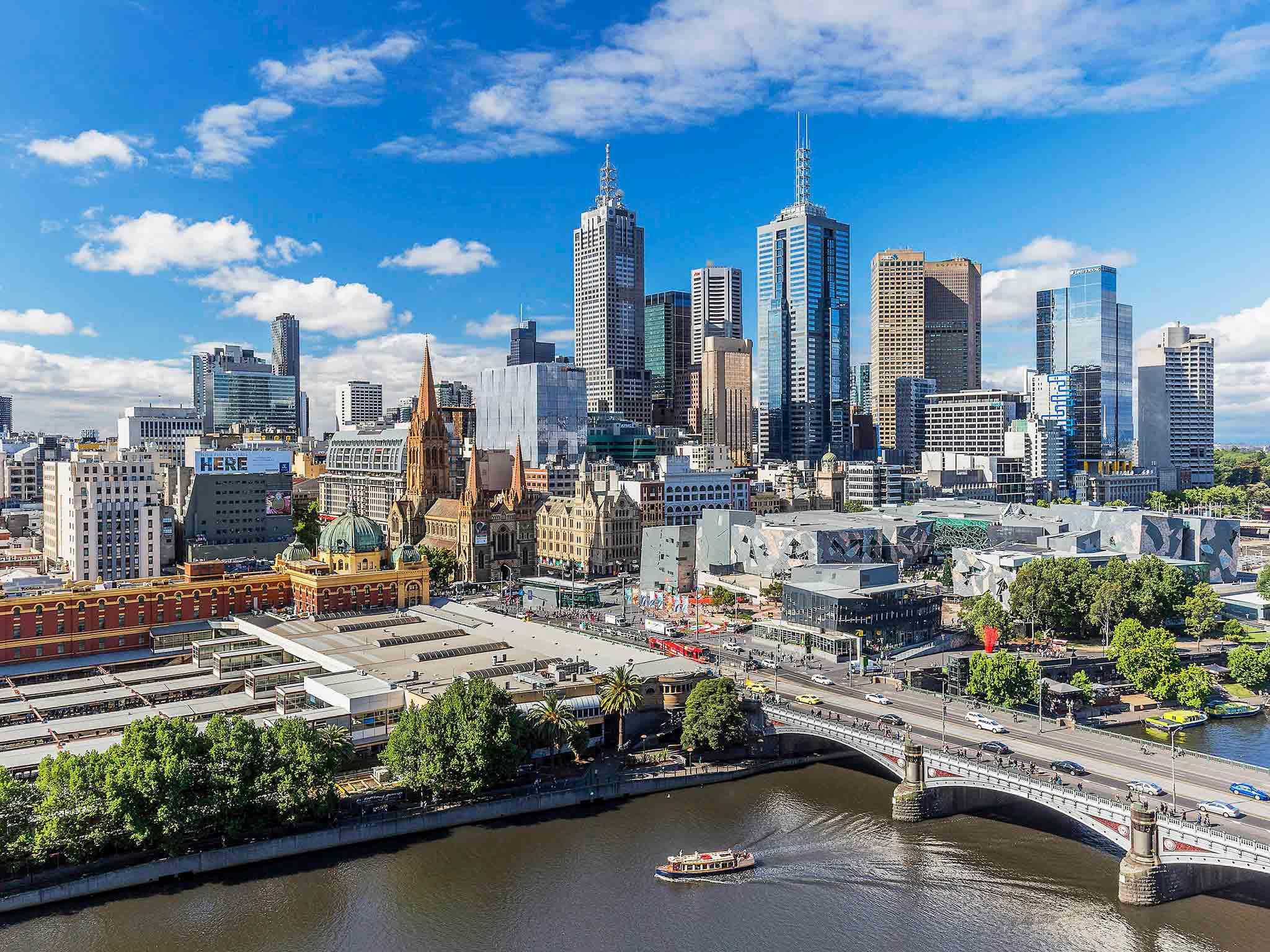 فندق - Quay West Suites Melbourne