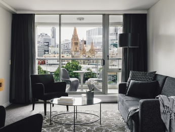 Zimmer - Quay West Suites Melbourne