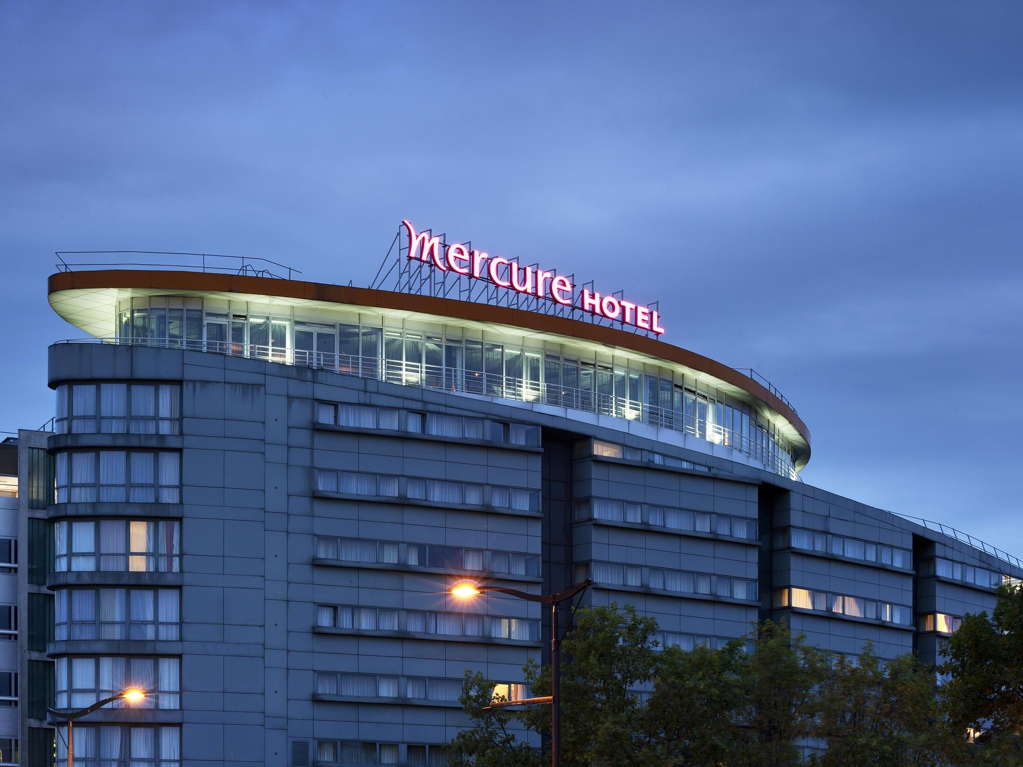 Отель — Отель Mercure Париж 19 Филармони Ла-Виллет