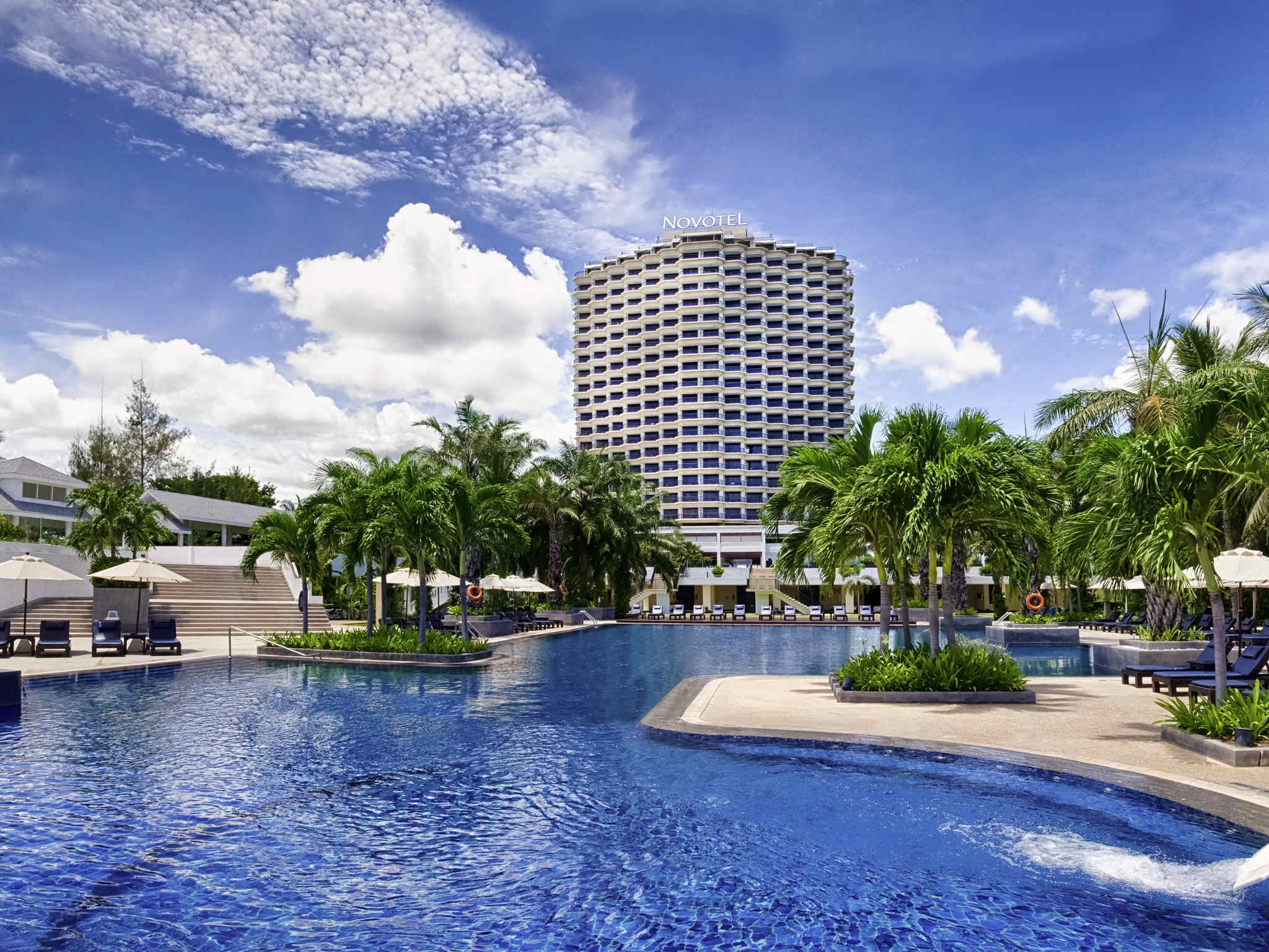 Hotell – Novotel Hua Hin Cha-Am Beach Resort & Spa