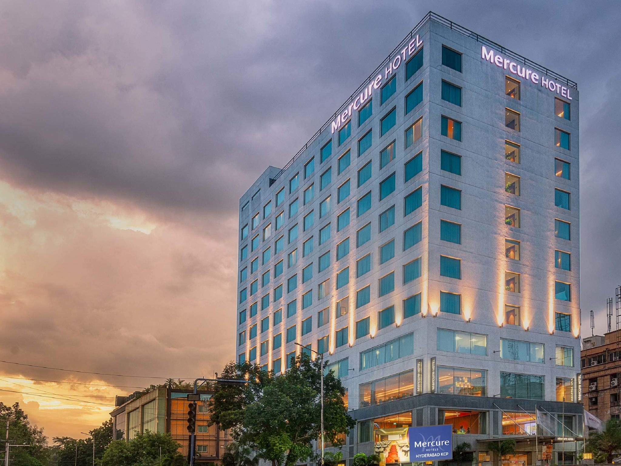 호텔 – Mercure Hyderabad KCP