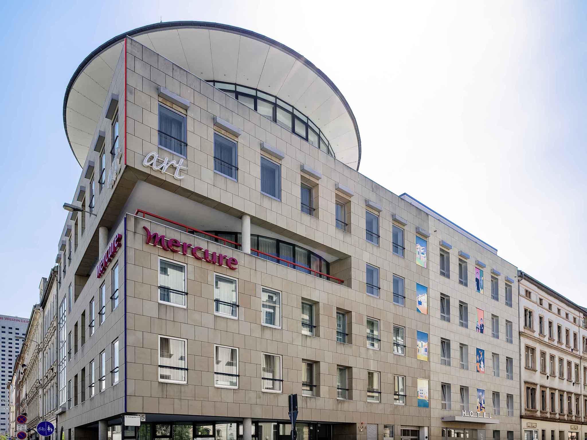 โรงแรม – Mercure Hotel Art Leipzig