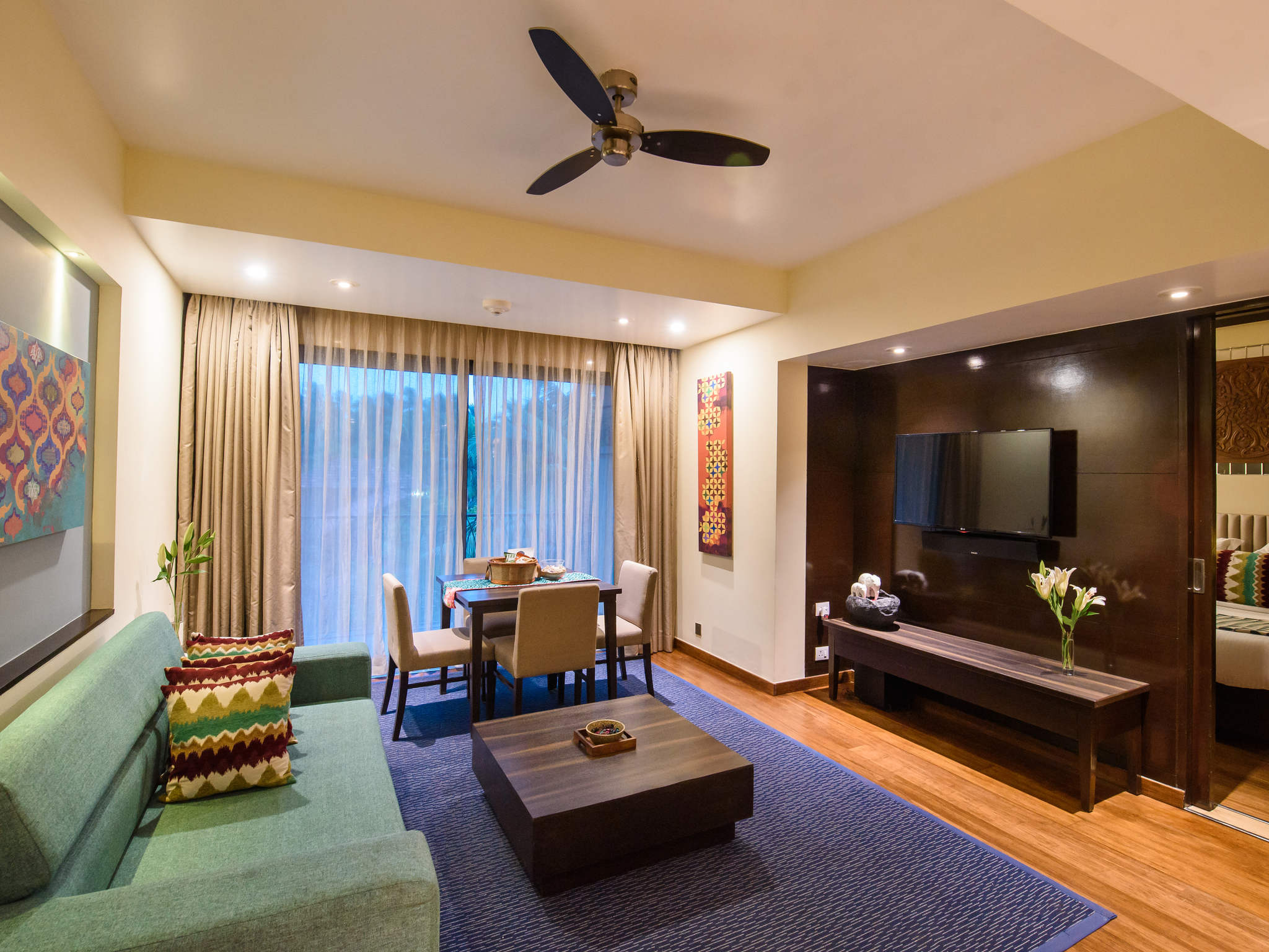 5 Star Shrem Resort Novotel Goa Resorts Spa Well Serve As A Home Office Again Showing The Wiring Pattern Rooms