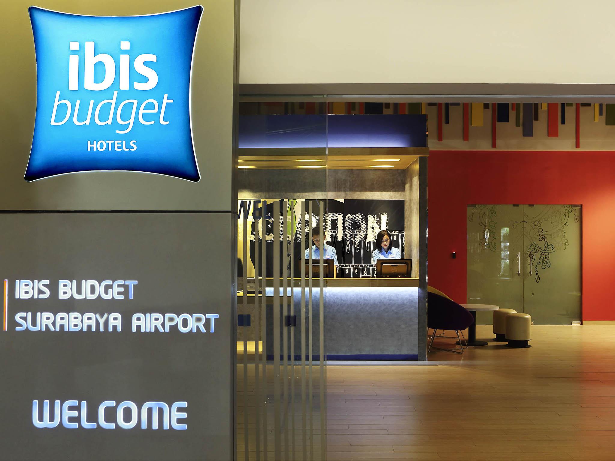 Отель — ibis budget Surabaya Airport