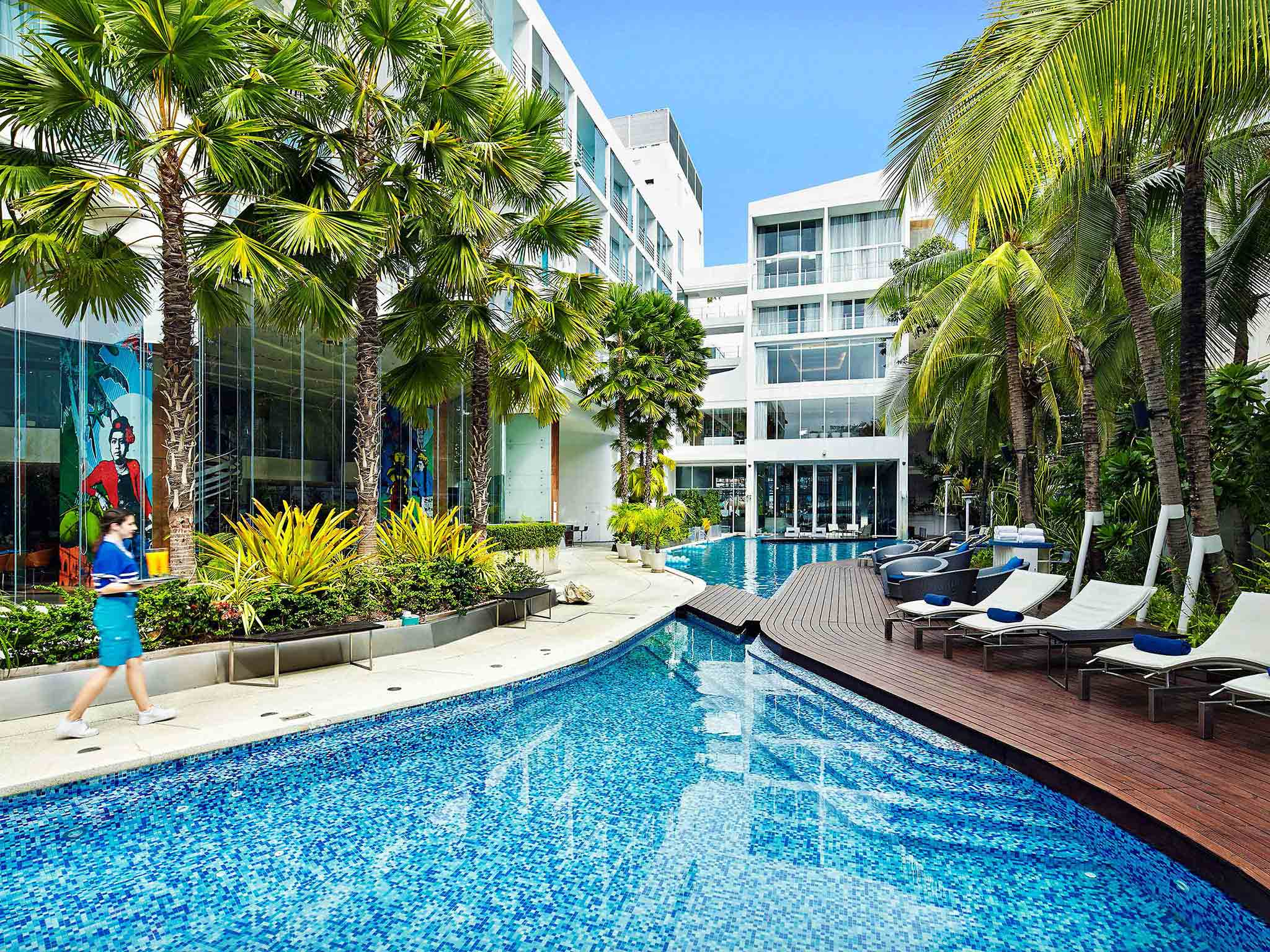 Hotel in PATTAYA - Baraquda Pattaya - MGallery by Sofitel