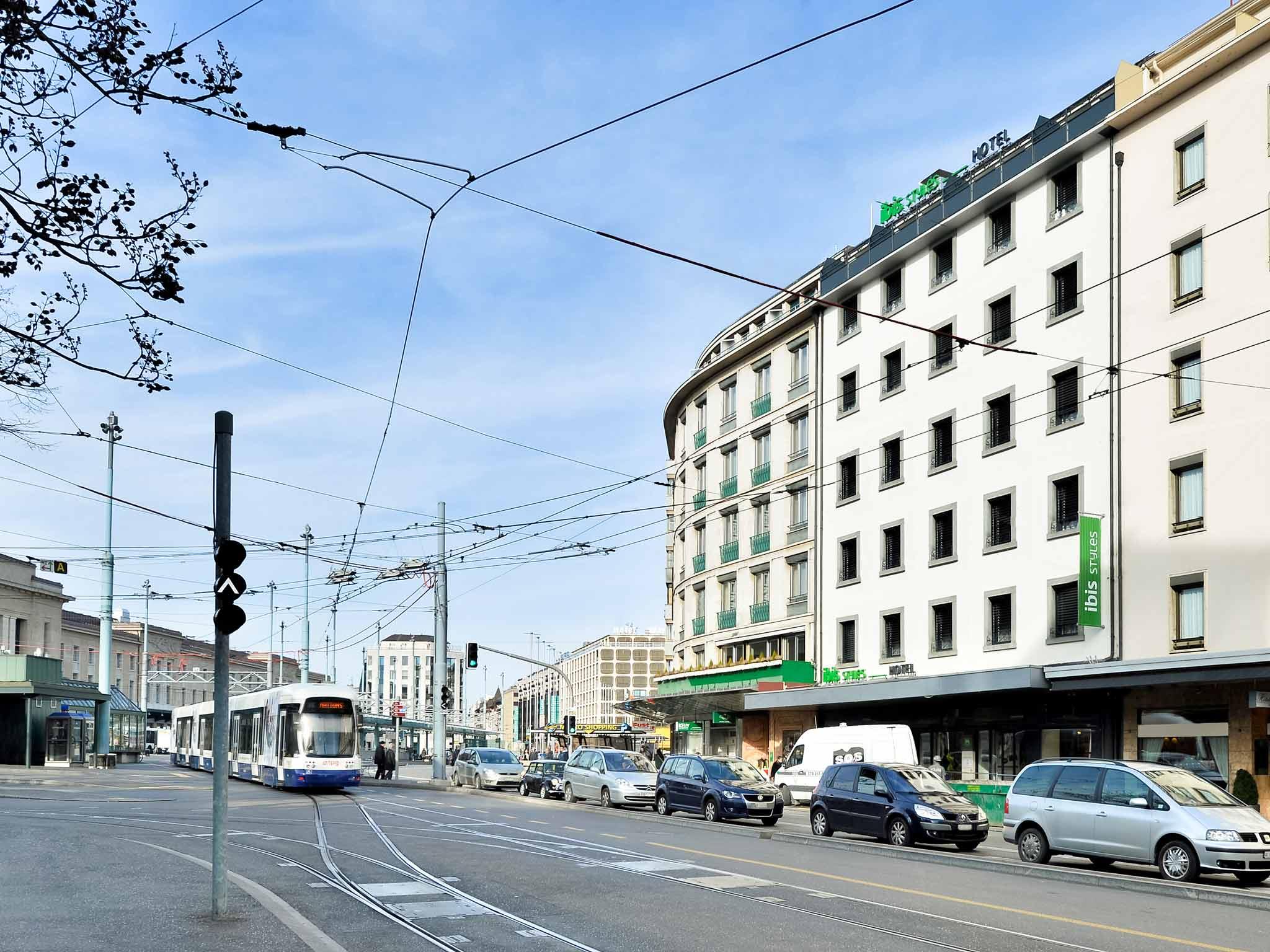 Отель — ibis Styles Женева Вокзал
