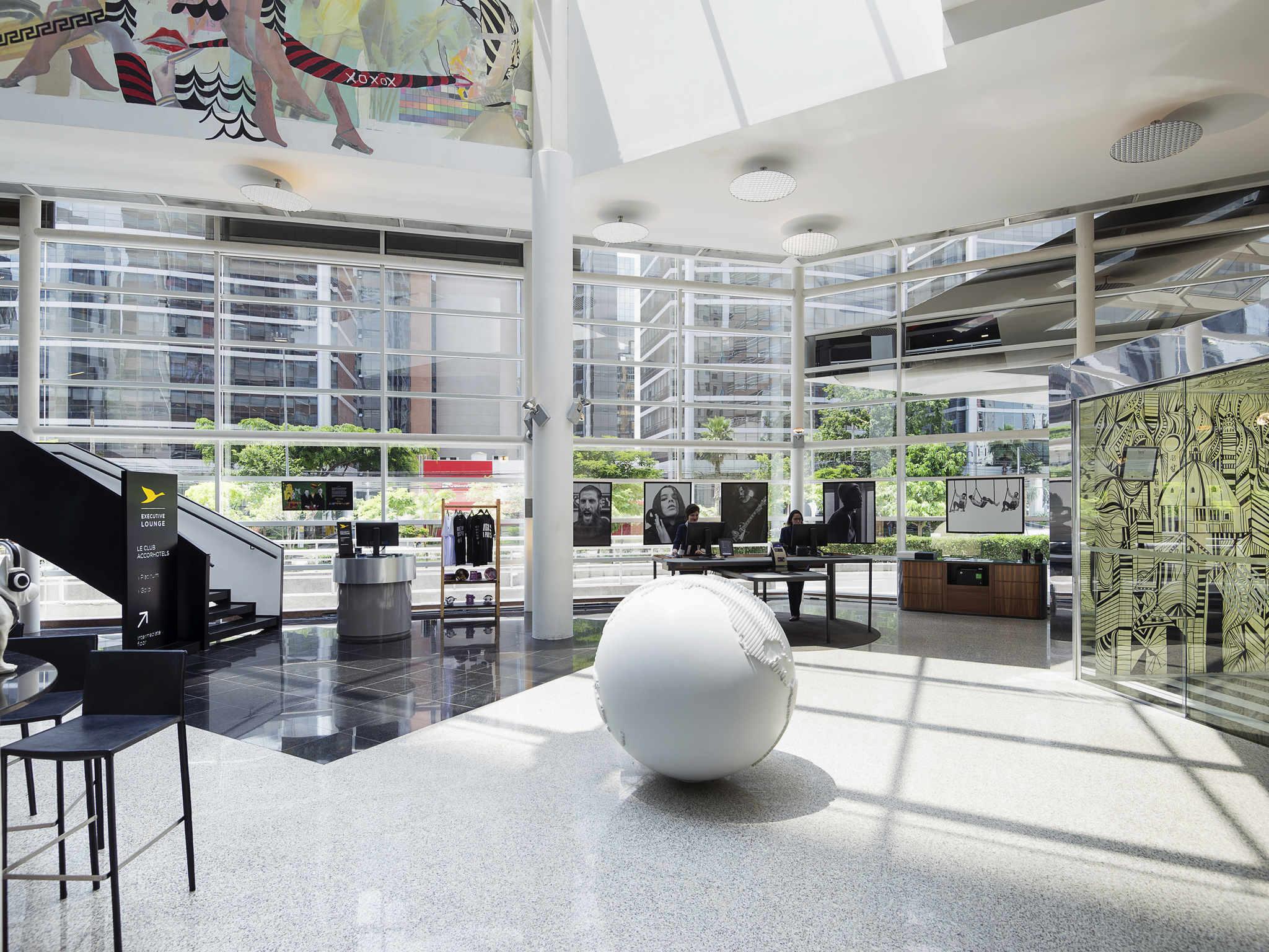 酒店 – 圣保罗奥林匹亚区铂尔曼酒店
