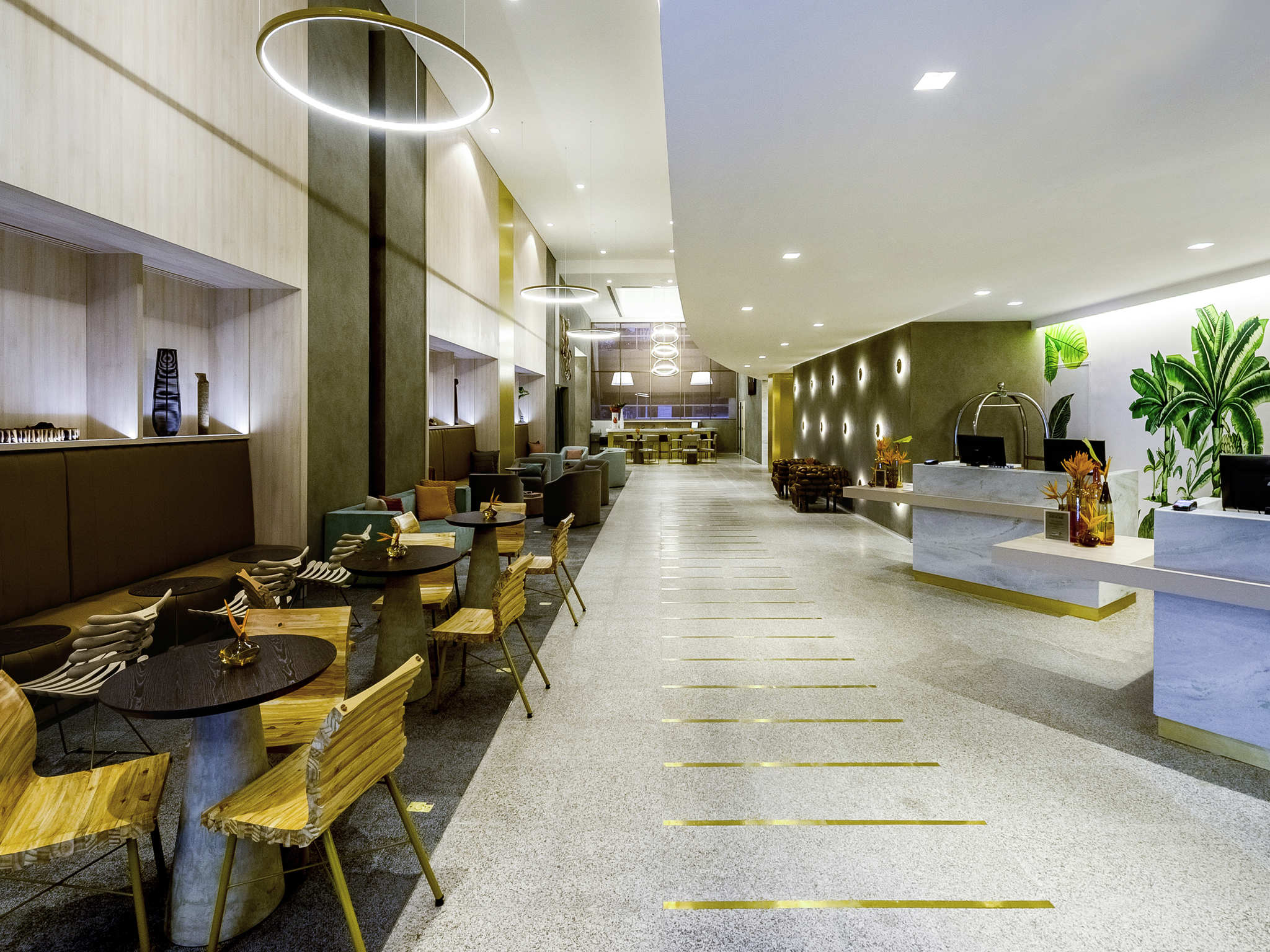 Отель — Grand Mercure Сан-Паулу Вила Олимпия (ранее - Caesar Business)