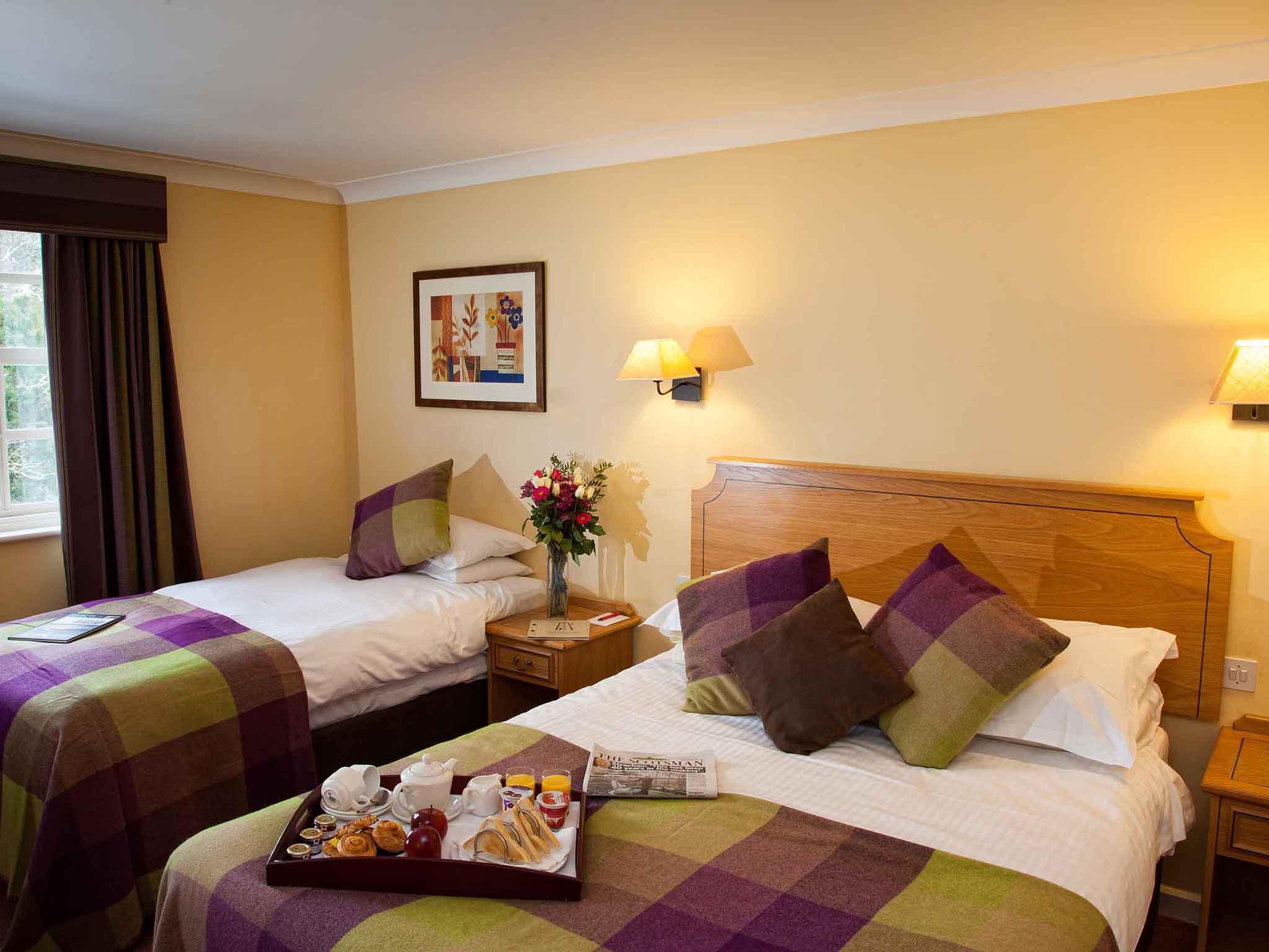 mercure peebles barony castle | quality hotel in peebles