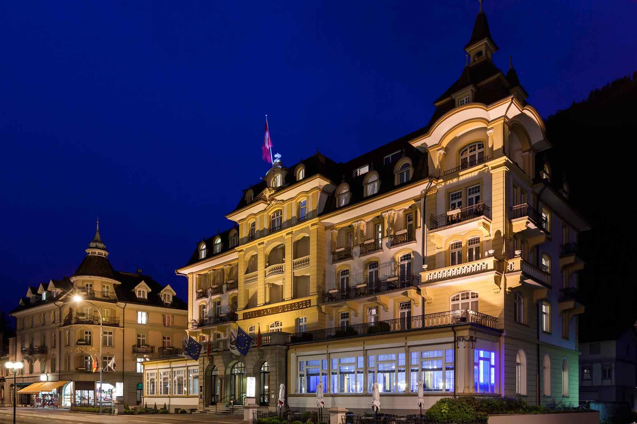 Отель — Отель Ройял Сен-Жорж Интерлакен - MGallery by Sofitel