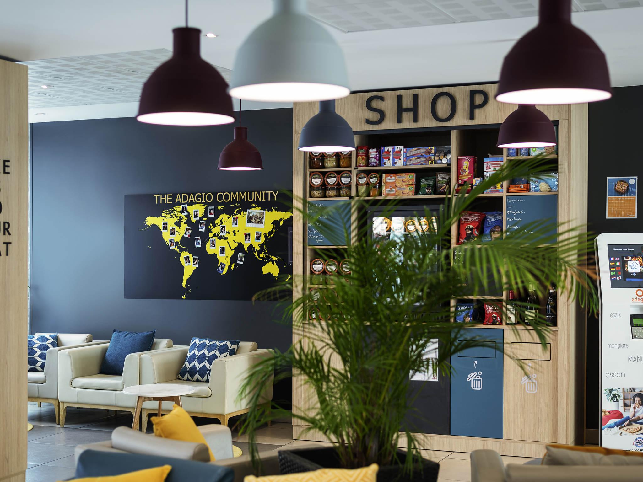 โรงแรม – Aparthotel Adagio access Le Havre Les Docks