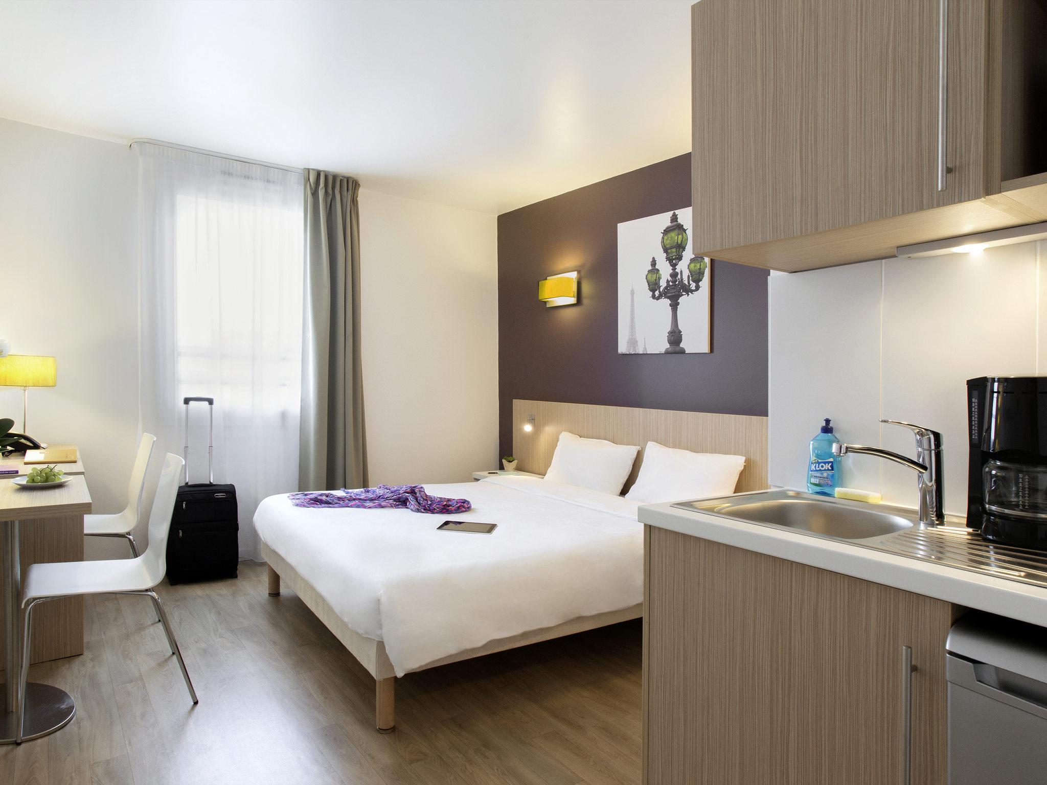Отель — Aparthotel Adagio access Париж Клиши