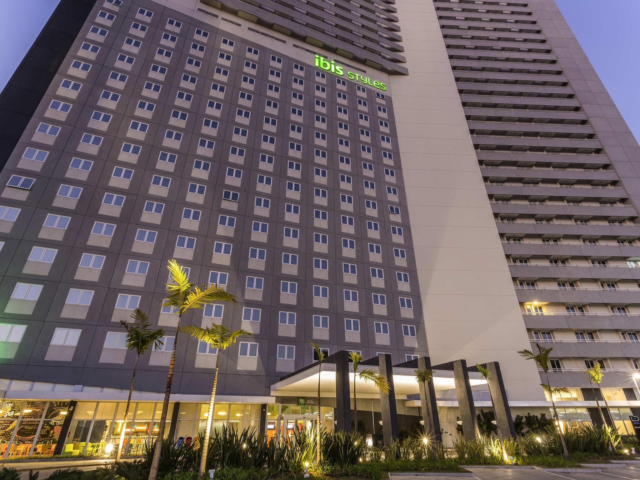 Hotel - ibis Styles São Paulo Barra Funda