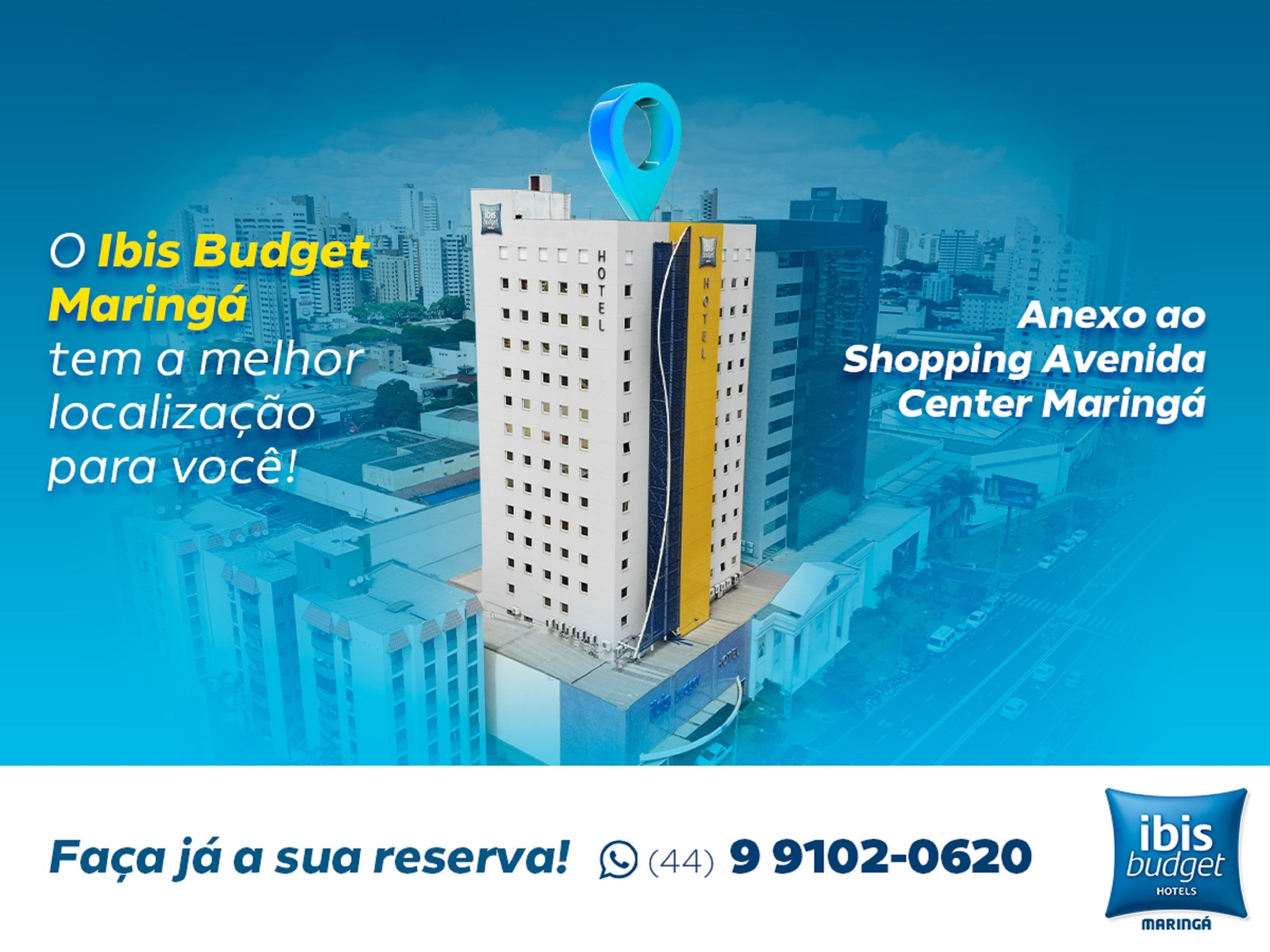 Otel – ibis budget Maringa