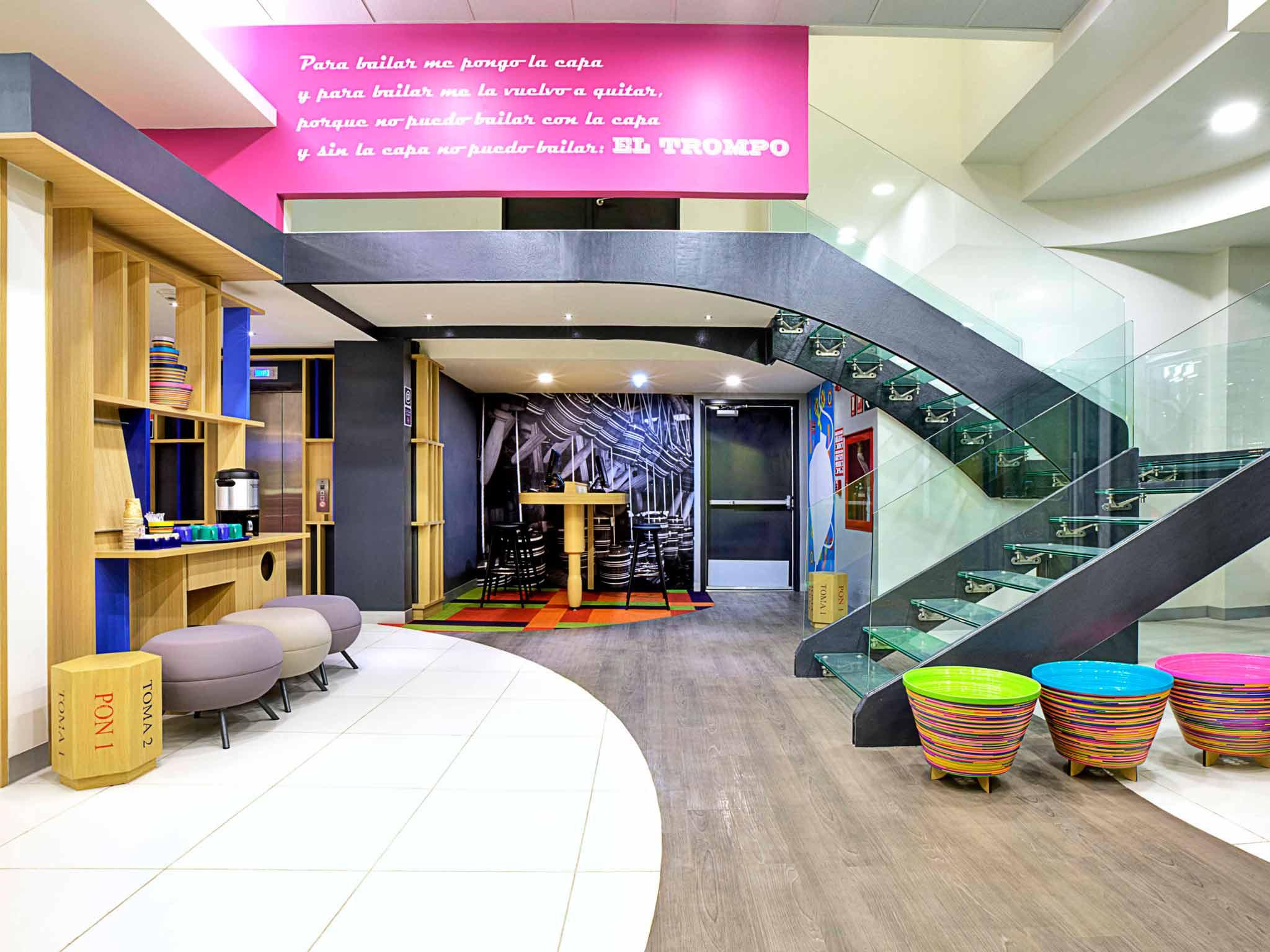 Hotel – ibis Styles Mexico Zona Rosa