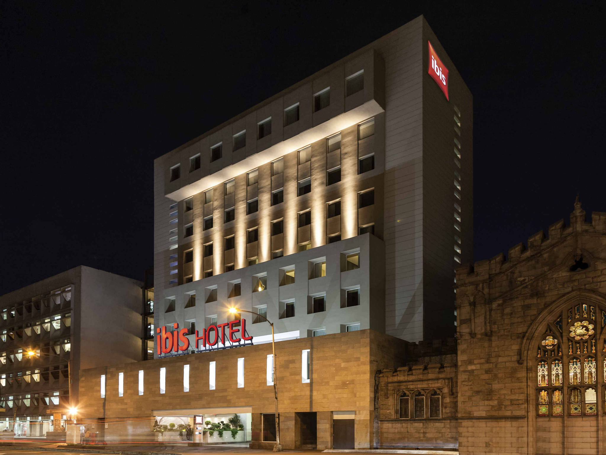 Отель — ibis Мехико Аламеда