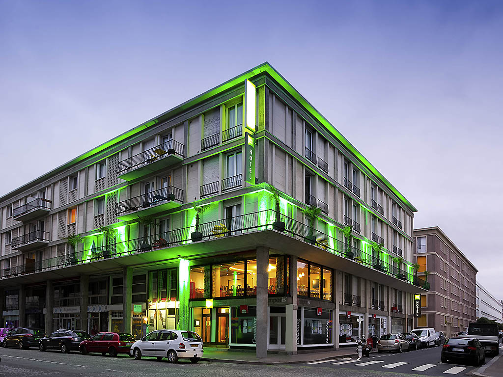 Hotel pas cher le havre ibis styles le havre centre for Style hotel