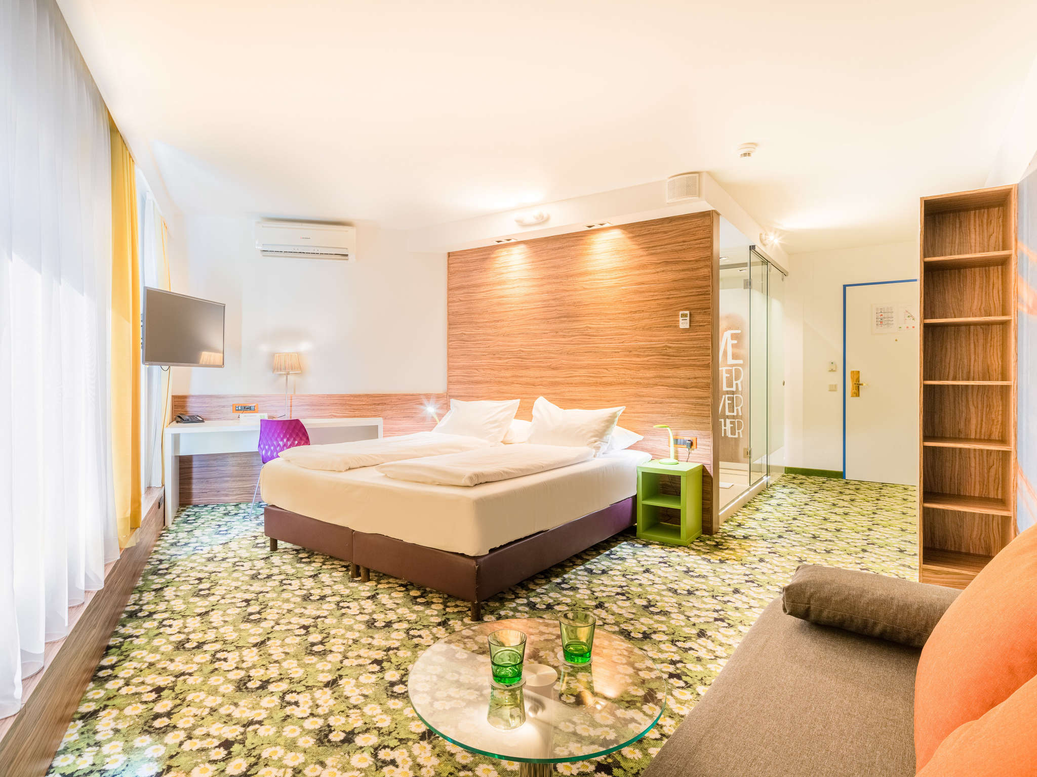 G nstiges hotel wien city ibis styles accor for Designhotel wien