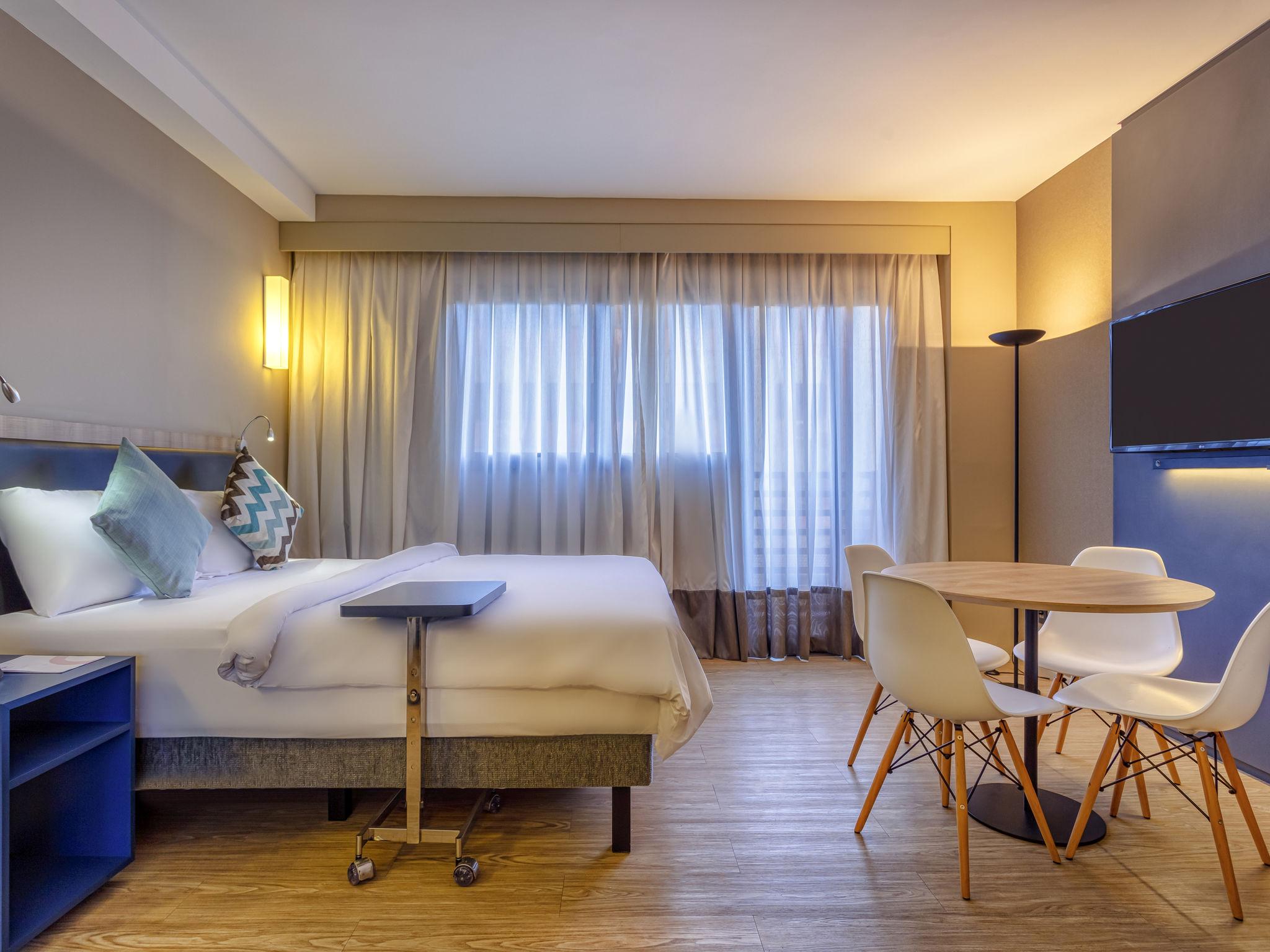 Отель — Aparthotel Adagio Alphaville