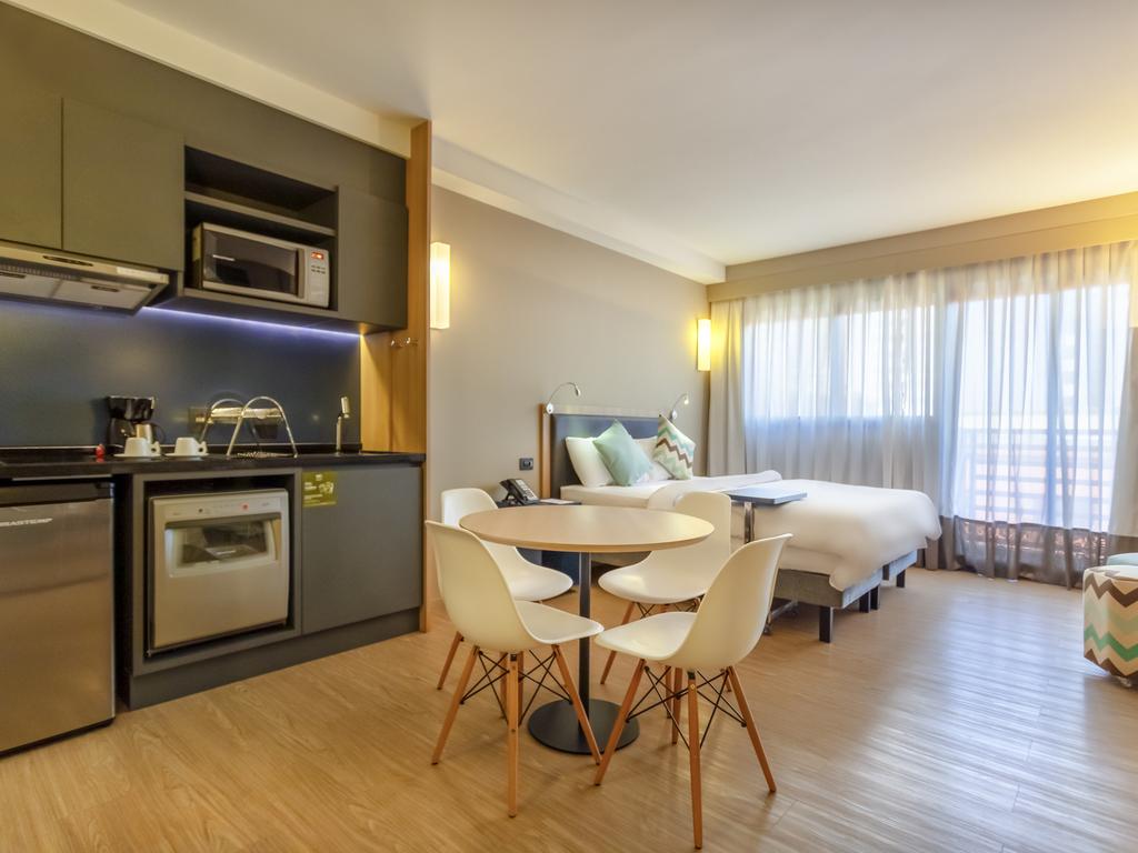 Apartamento Superior com cama de casal para até 02 pessoas