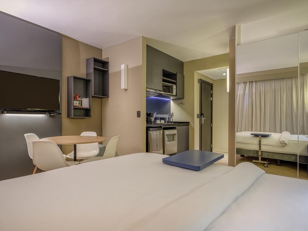 Apartamento Standard com cama de casal para até 02 pessoas