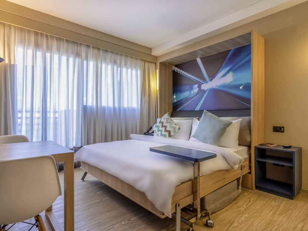 Apartamento Standard com cama de casal retrátil para até 02 pessoas