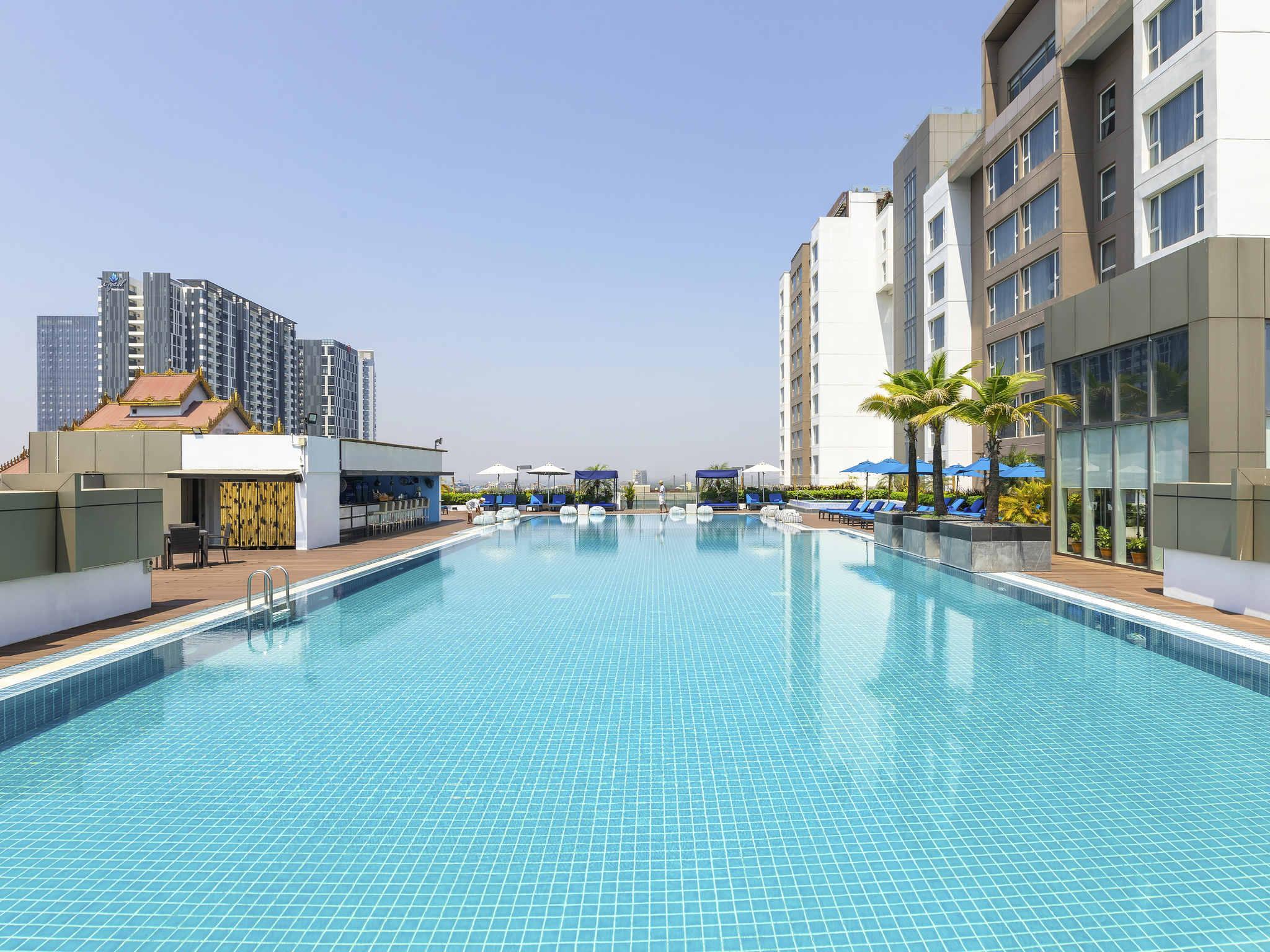 호텔 – Novotel Yangon Max