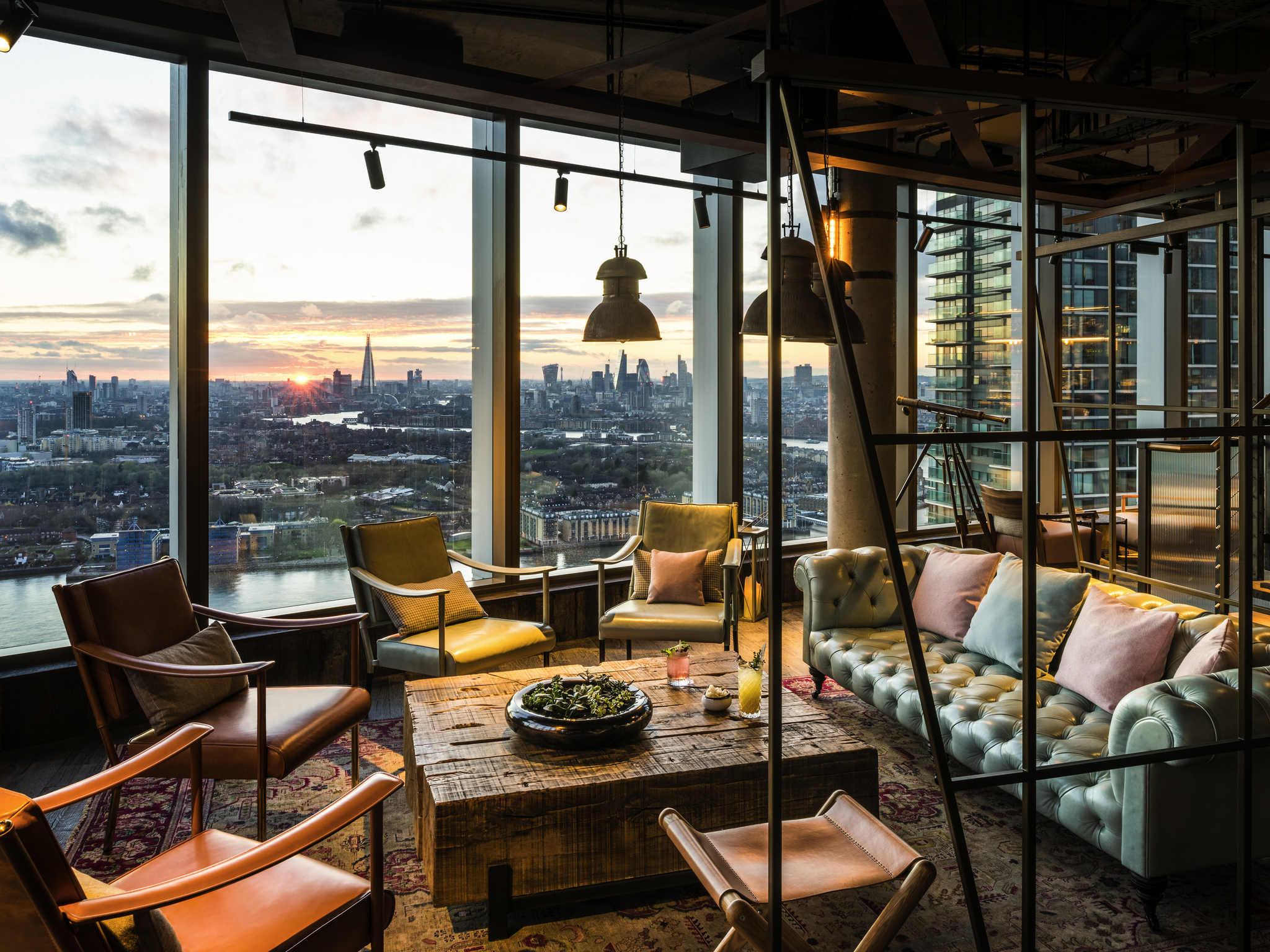 Hotell – Novotel London Canary Wharf