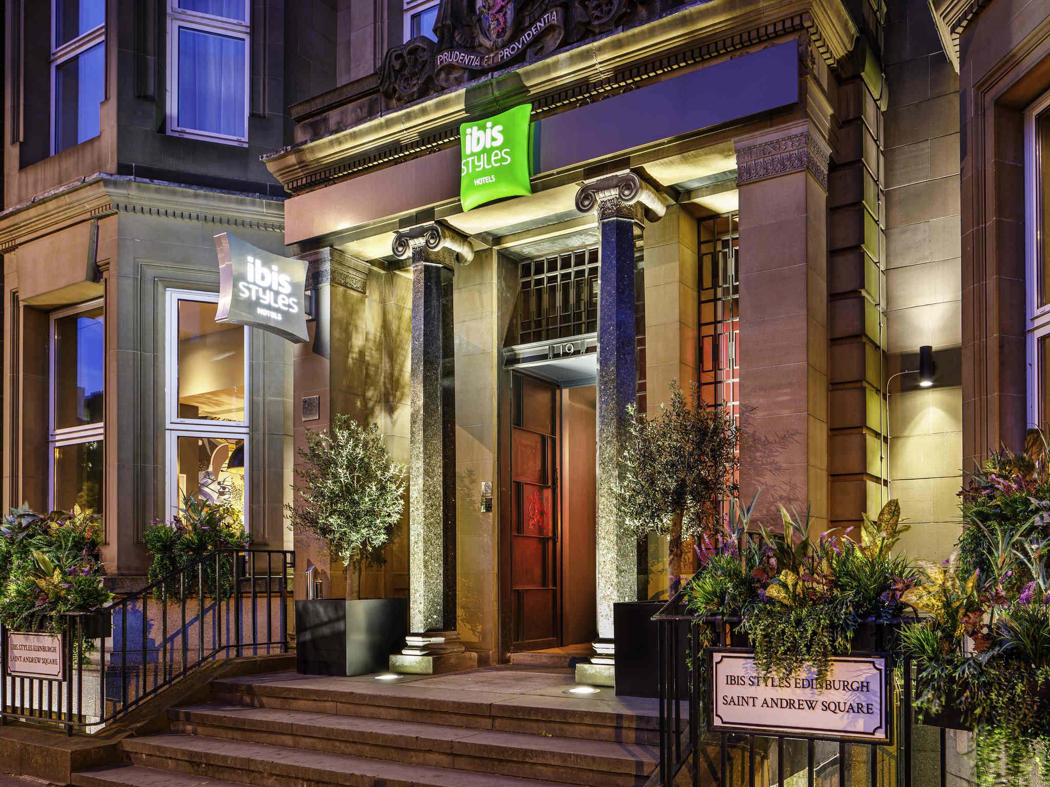 Отель — ibis Styles Эдинбург Центр Площадь Сент-Эндрю