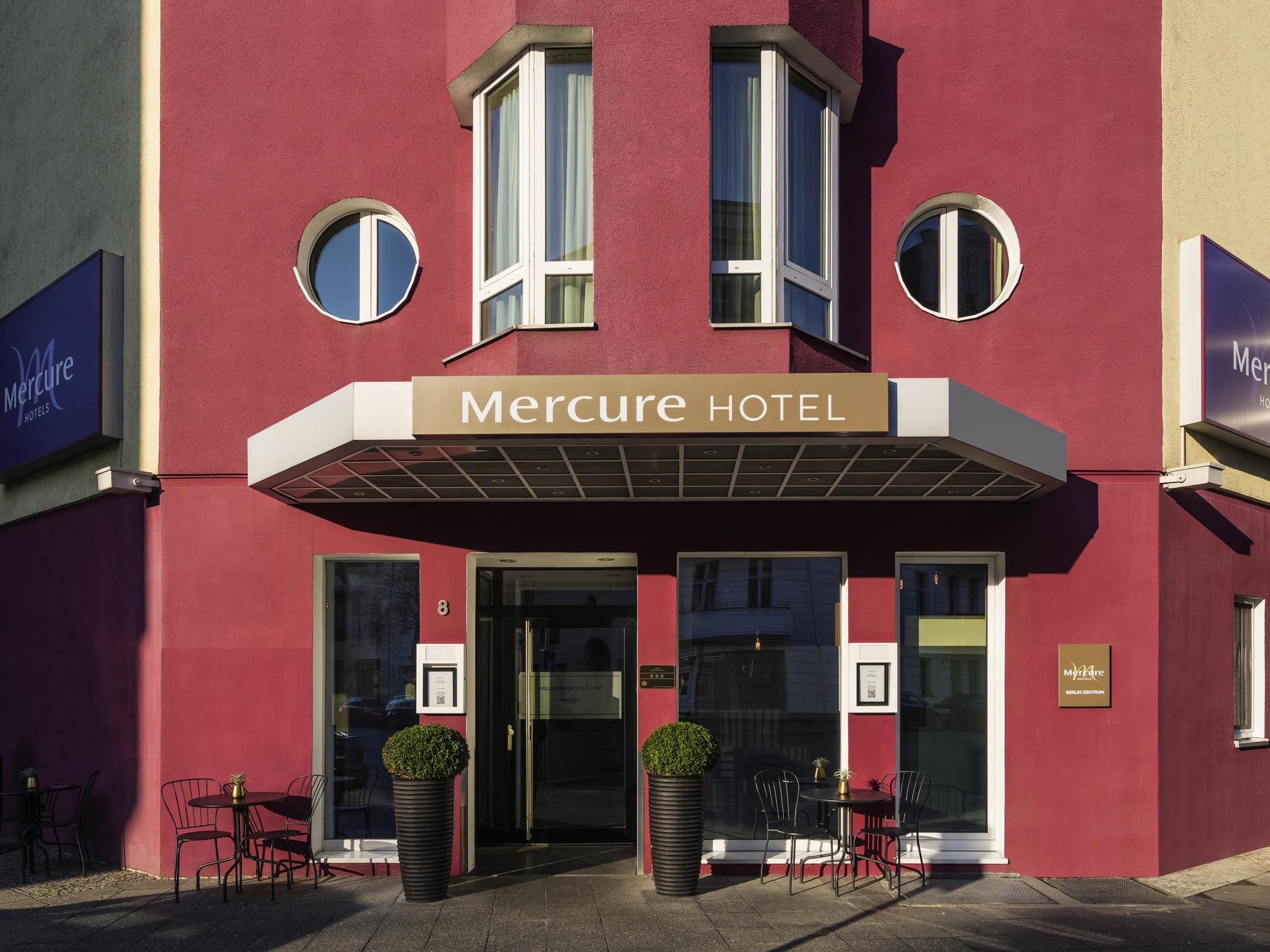 호텔 – 머큐어 호텔 베를린 젠트룸