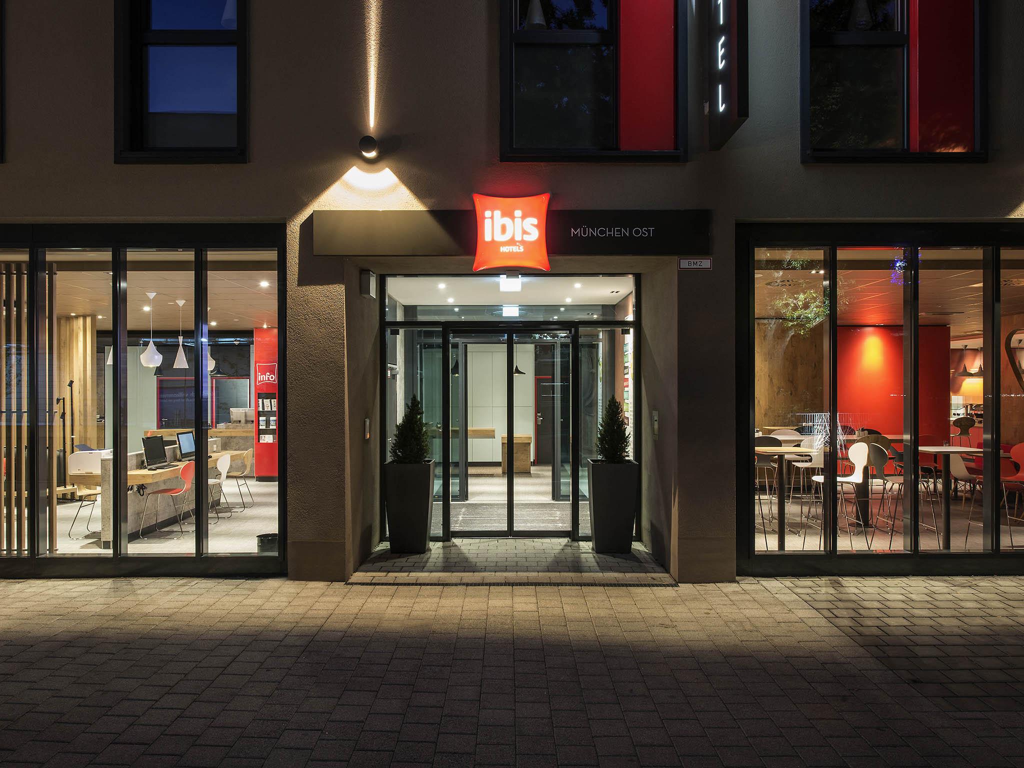 Отель — ibis Мюнхен Сити Восток