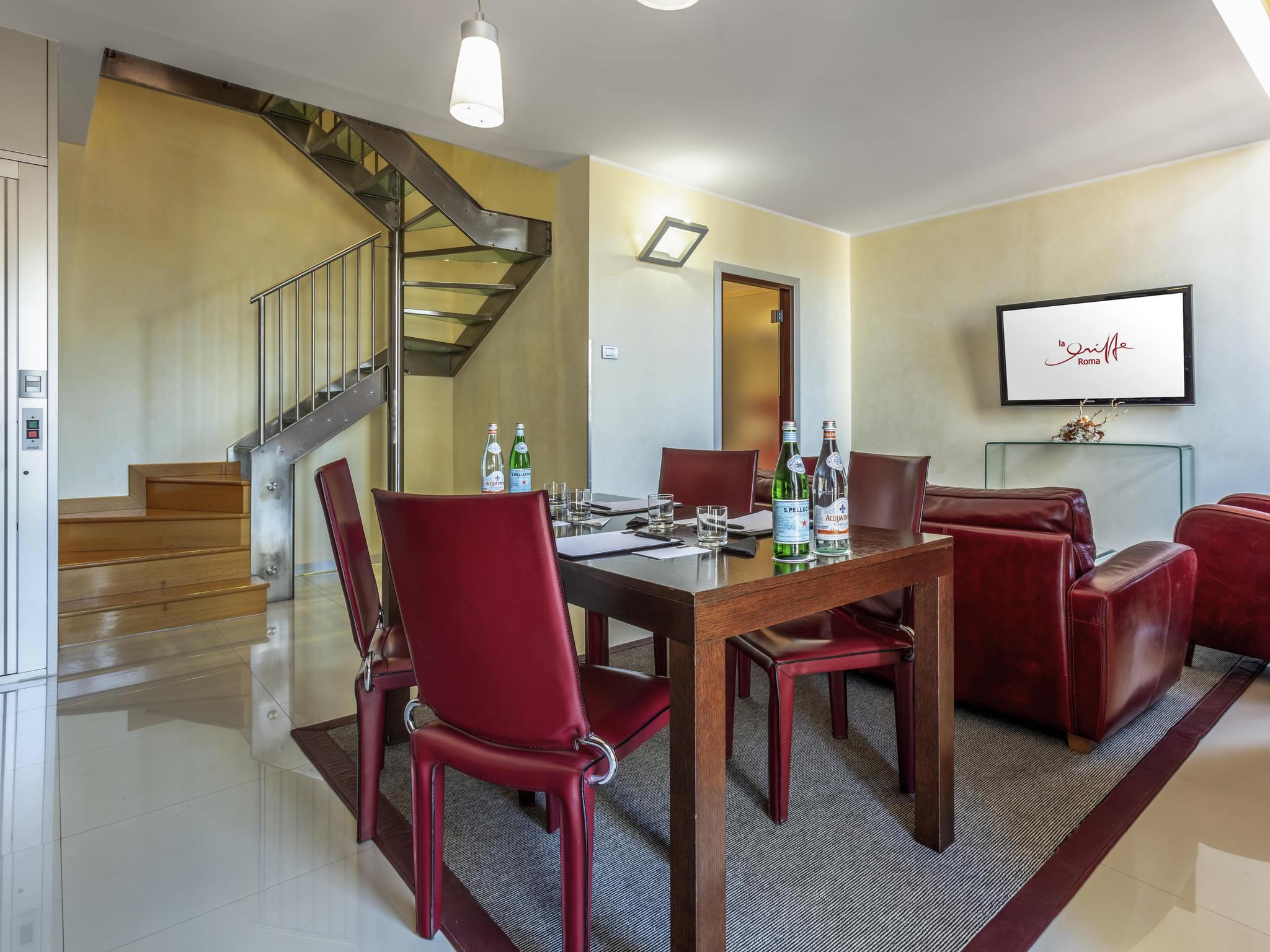 Sale Riunioni Roma Termini : Hotel la griffe roma centro mgallery by sofitel accorhotels