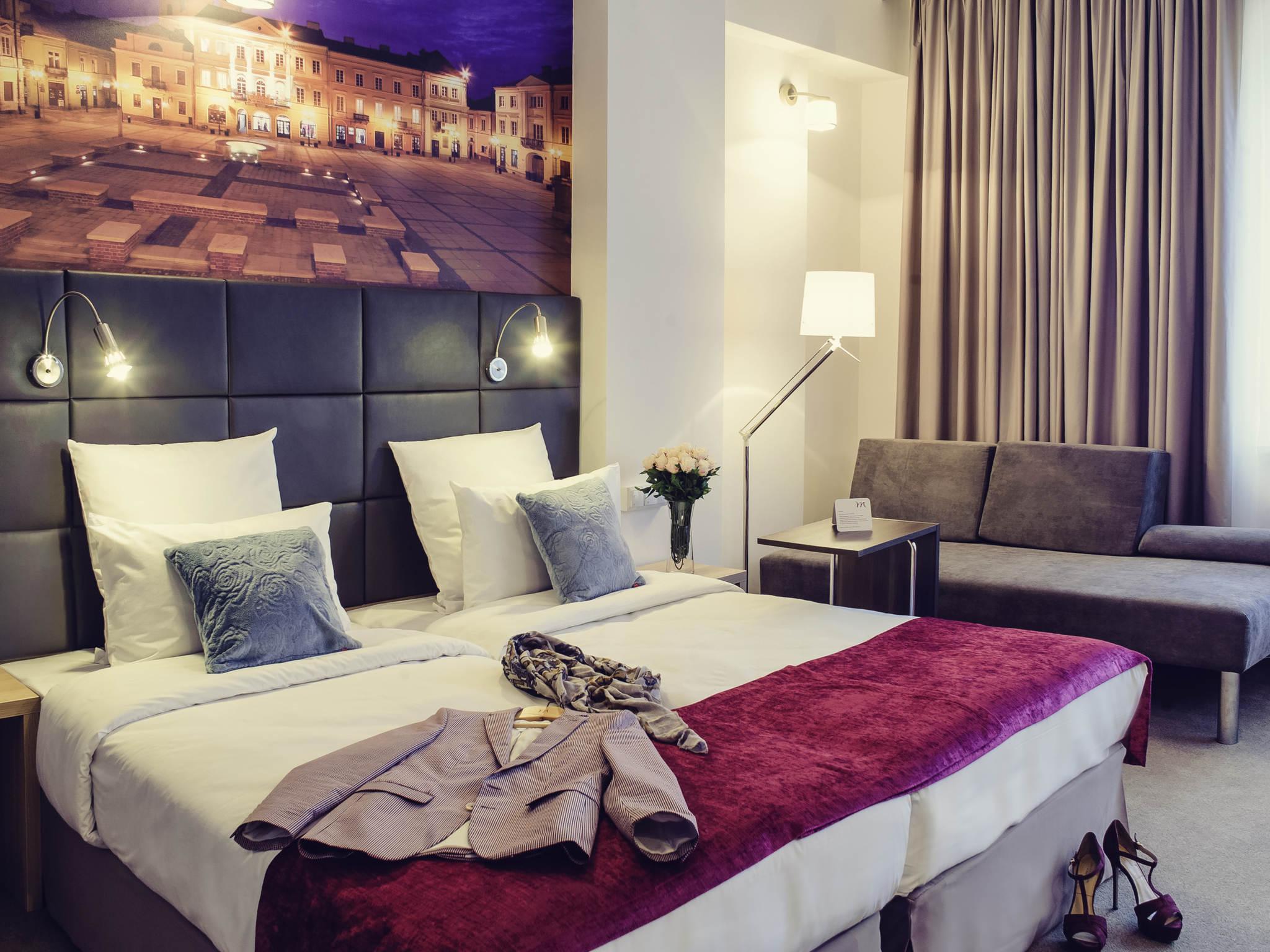 Hotel - Hotel Mercure Piotrkow Trybunalski Vestil