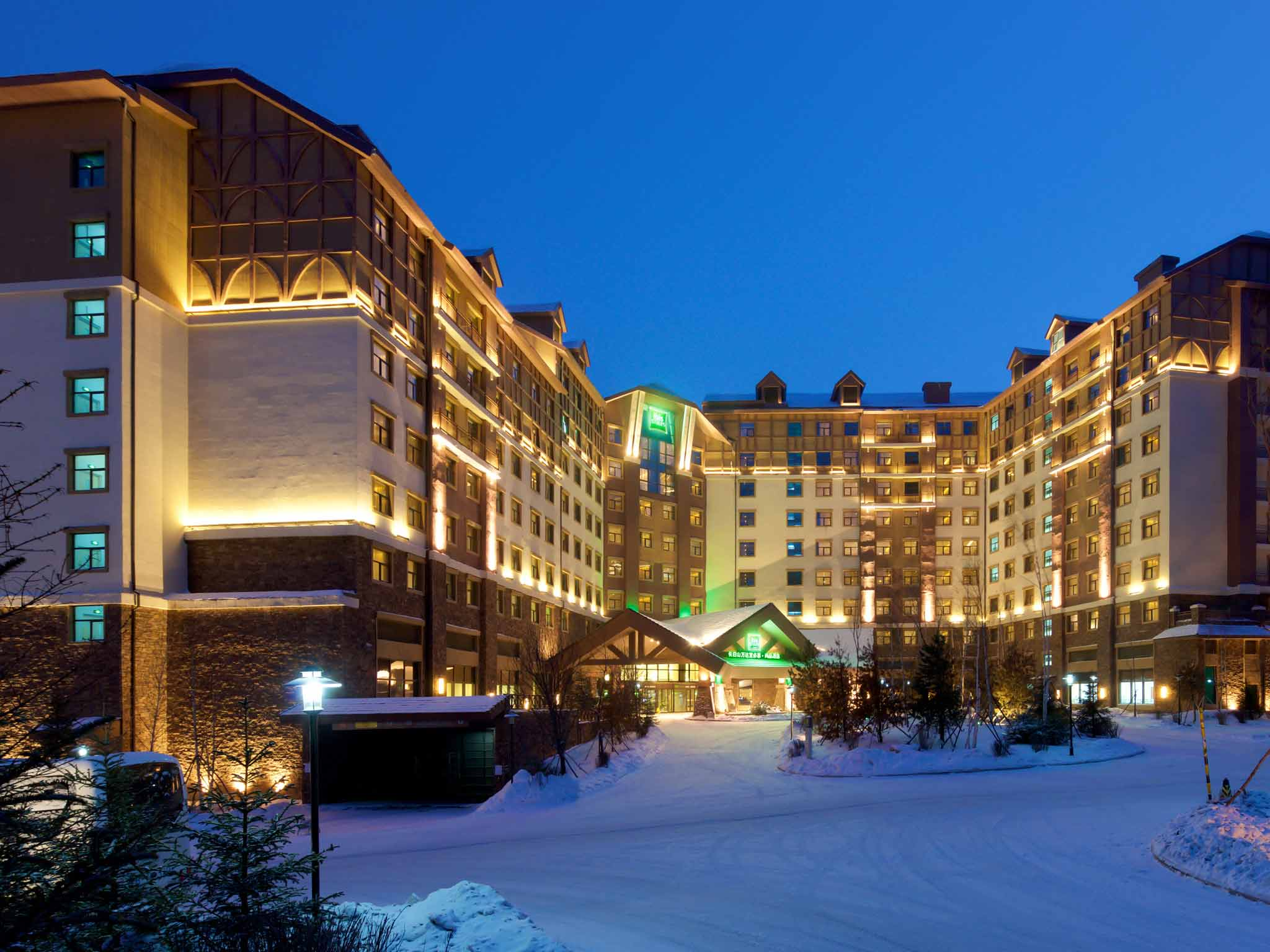 โรงแรม – ibis Styles Changbaishan Wanda
