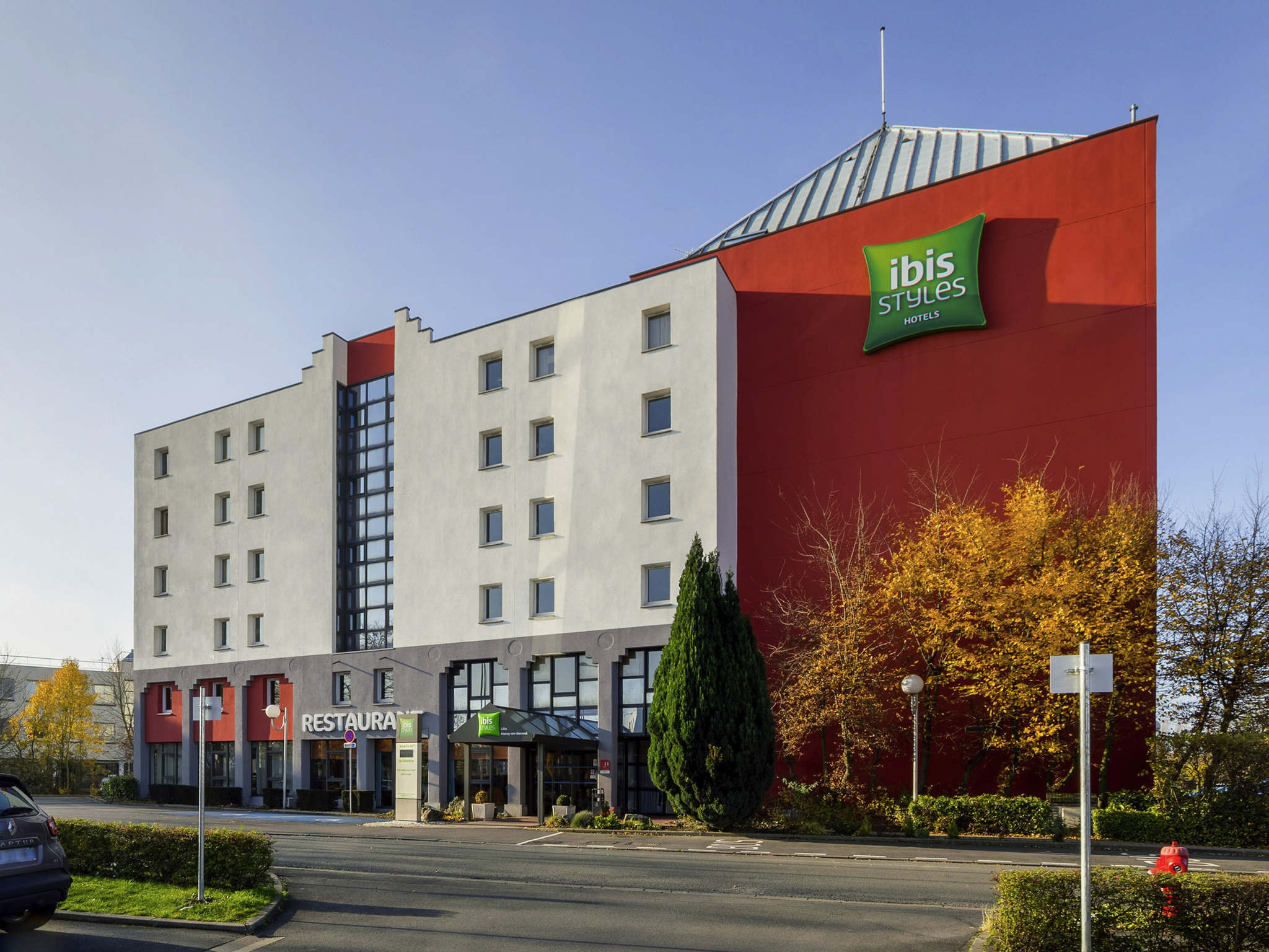 Отель — ibis Styles Lille Marcq-en-Baroeul