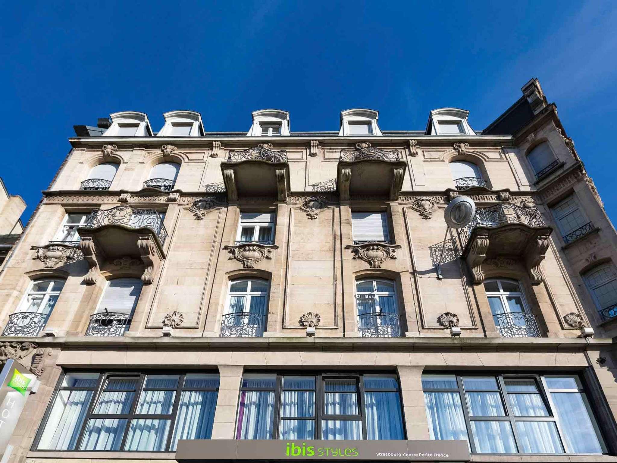 酒店 – 宜必思尚品斯特拉斯堡中心小法兰西酒店