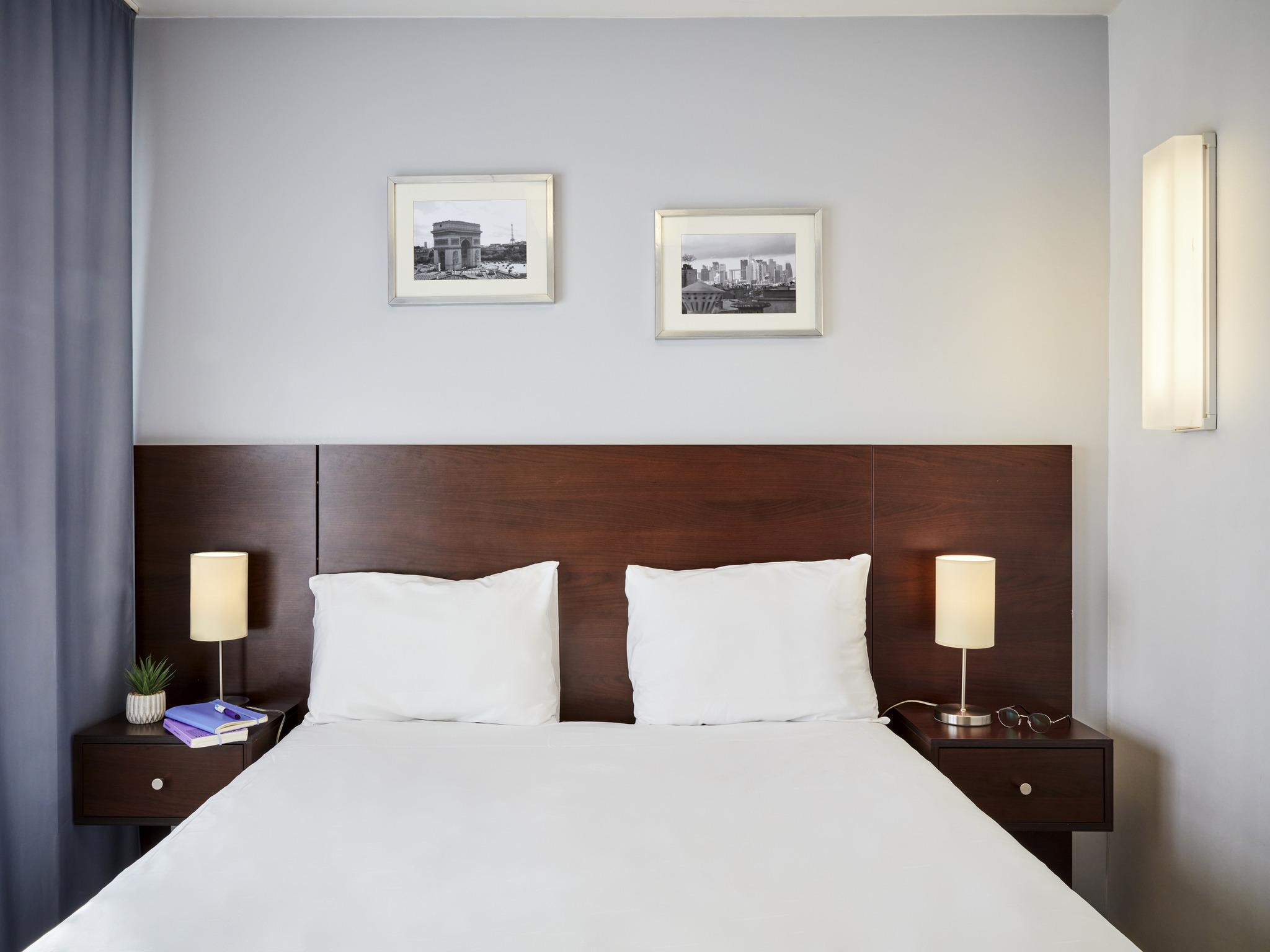 Отель — Апарт-отель Adagio access Париж Бастилия