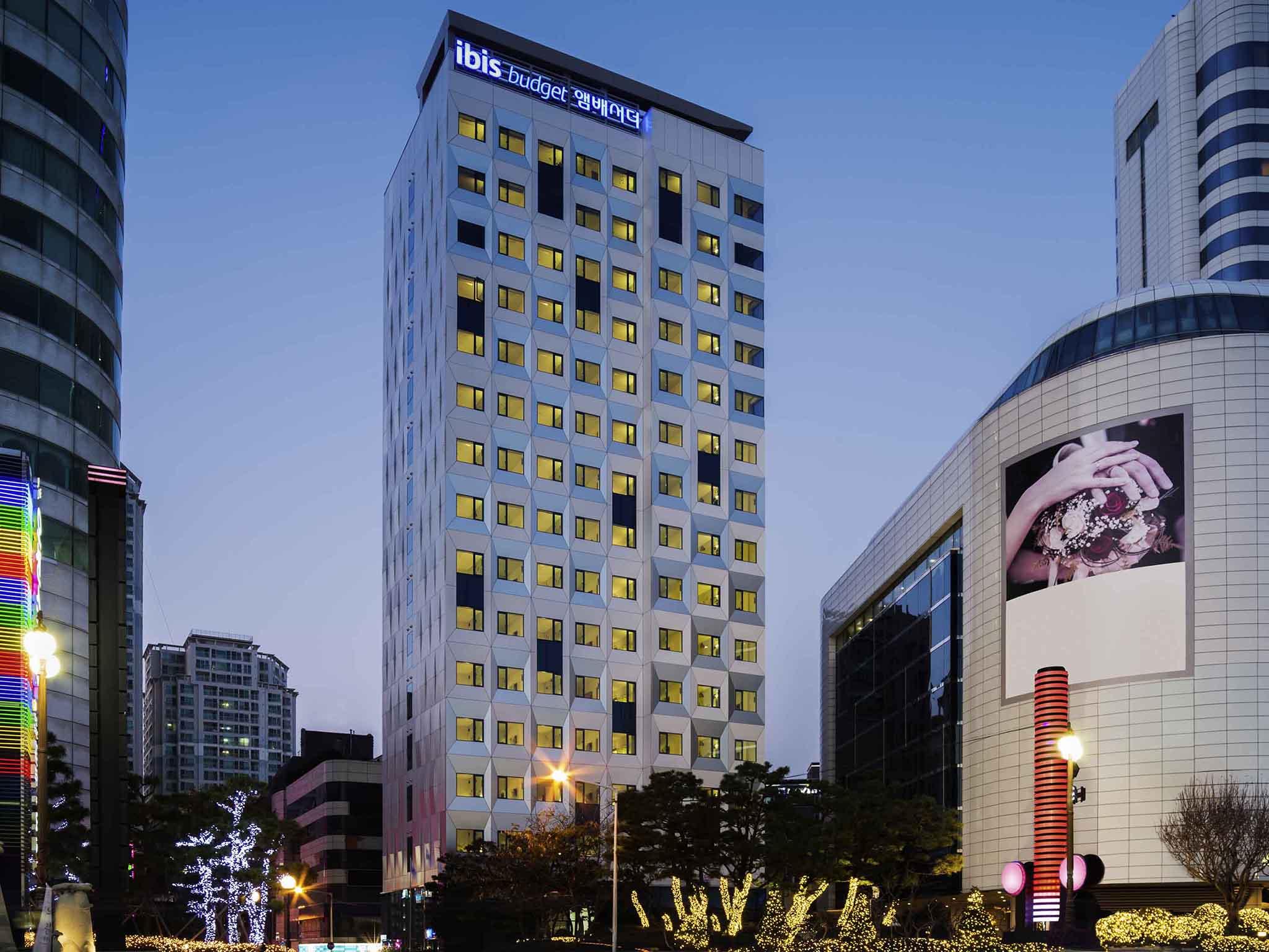 Отель — ibis budget Ambassador Пусан Хэйндэ