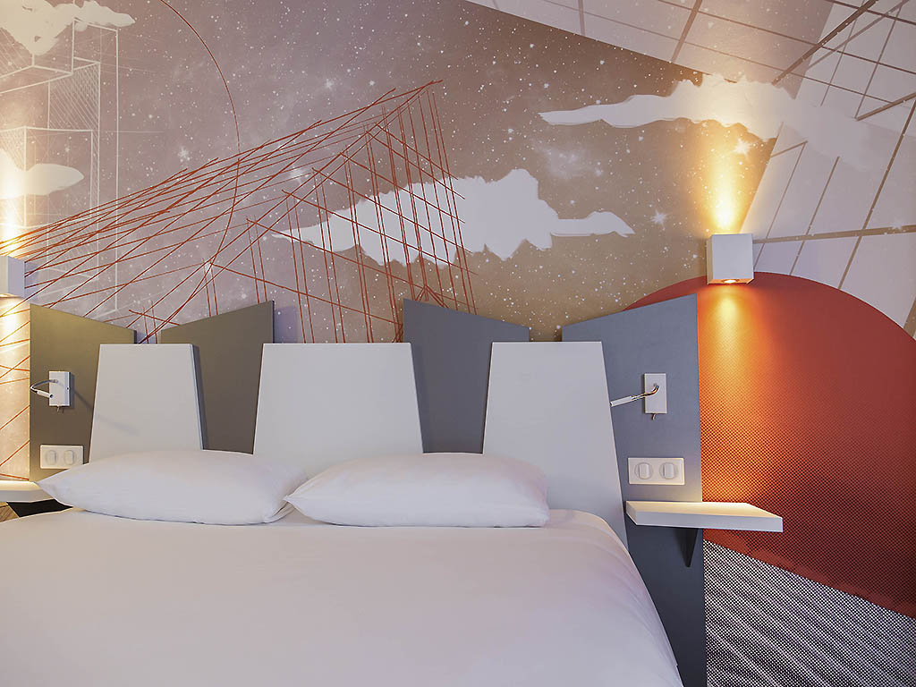 Hotel in poitiers ibis styles poitiers centre for Hotel design poitiers
