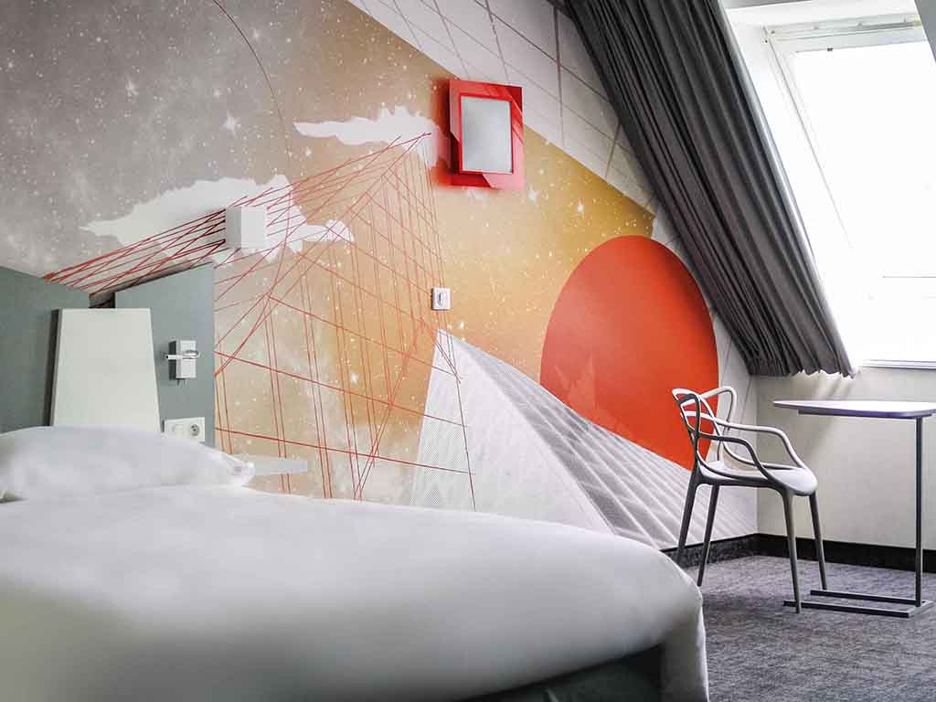 hotel pas cher poitiers ibis styles poitiers centre. Black Bedroom Furniture Sets. Home Design Ideas